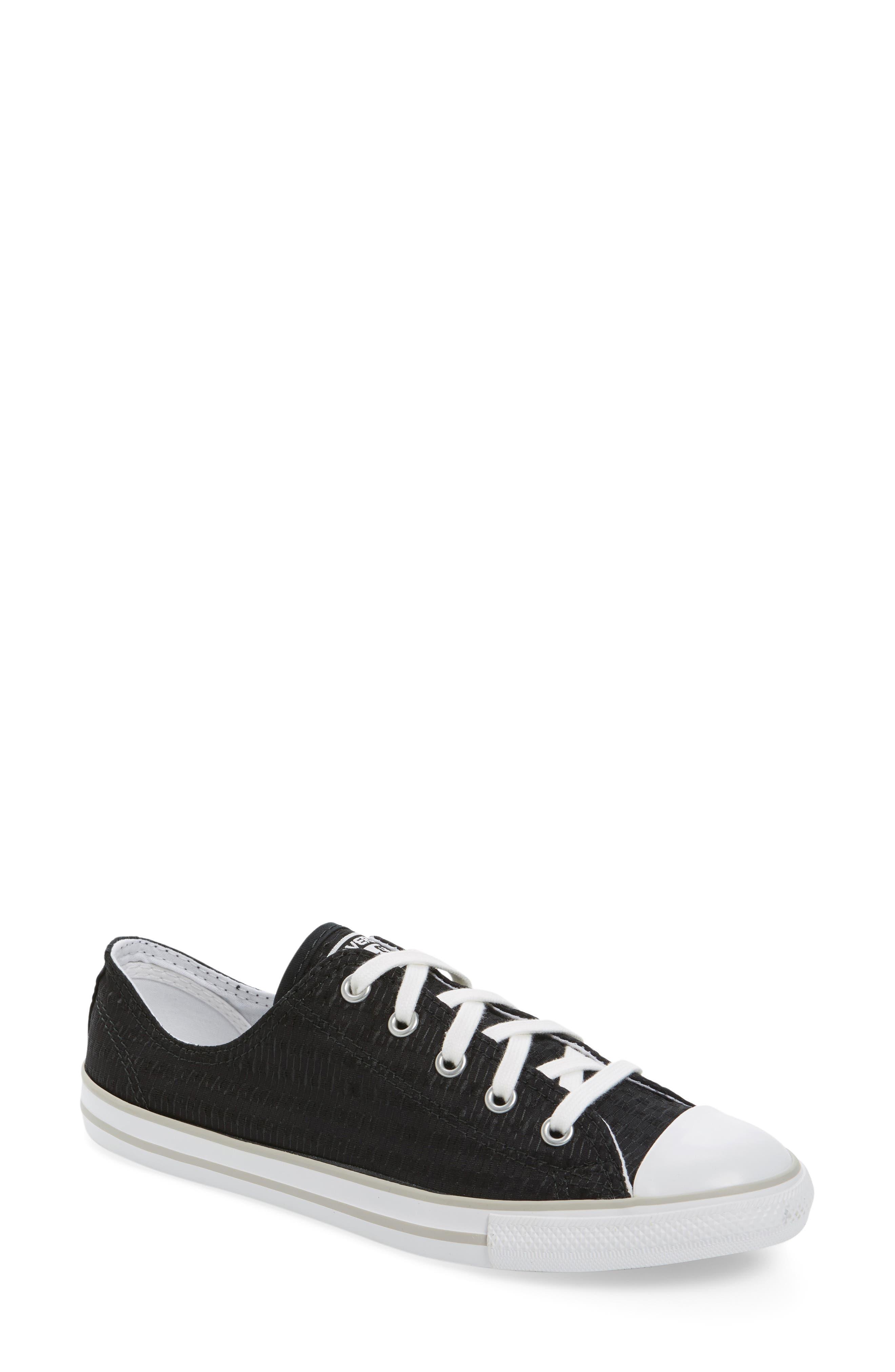 Main Image - Chuck Taylor® All Star® Dainty Low Top Sneaker (Women)