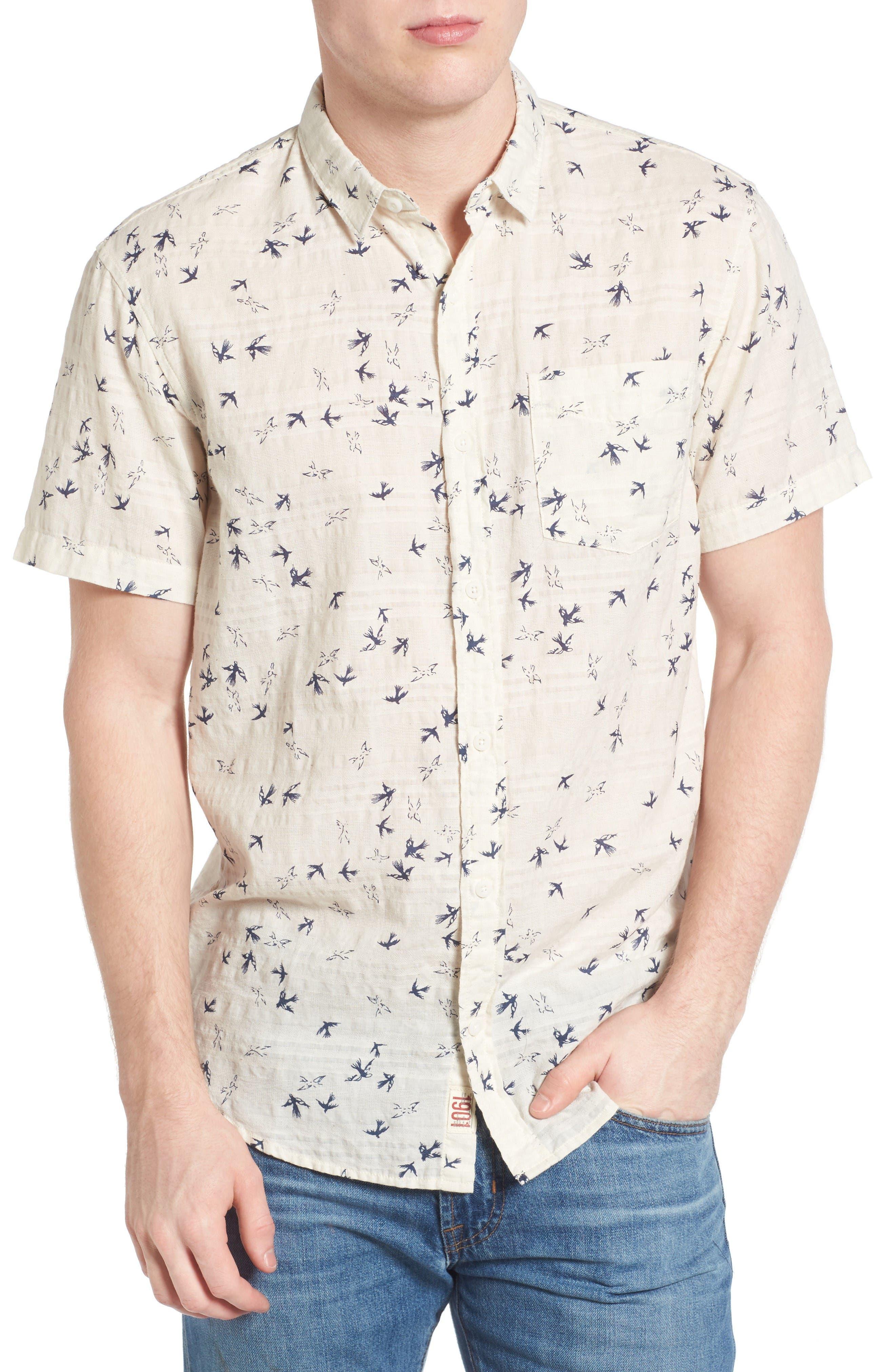 1901 Sparrow Print Shirt