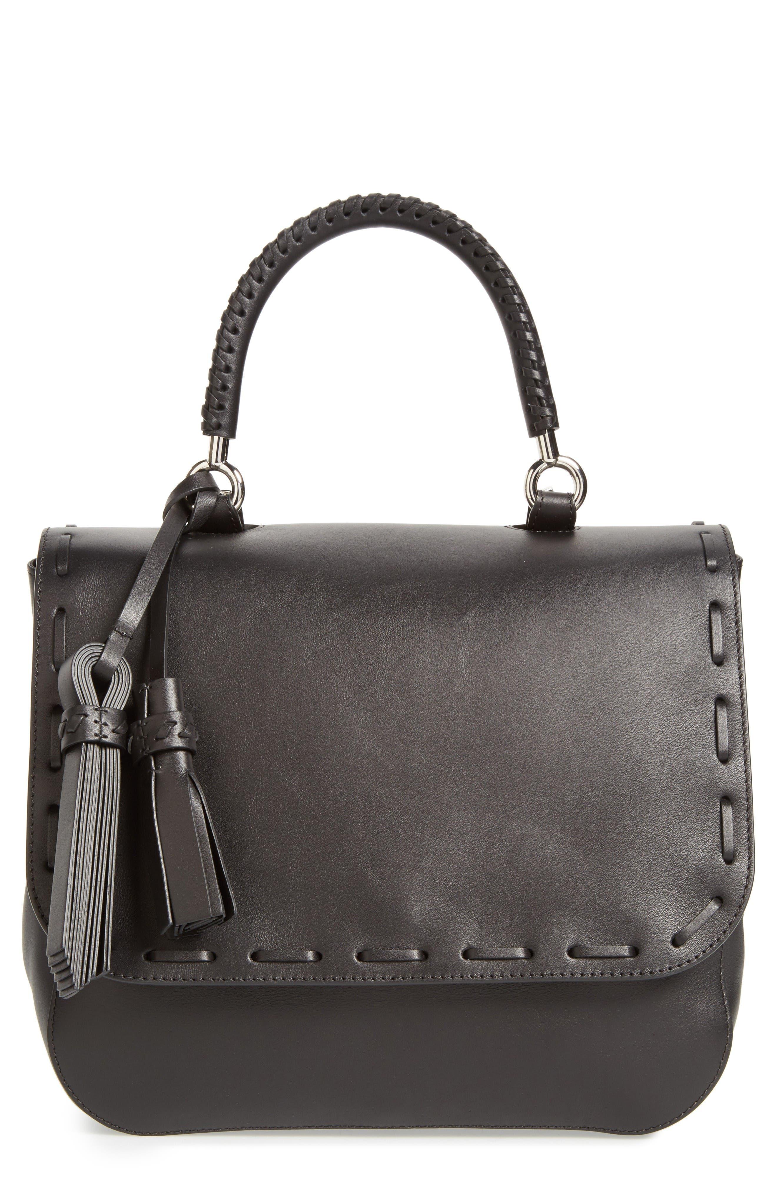 Main Image - Max Mara BoBag Leather Satchel