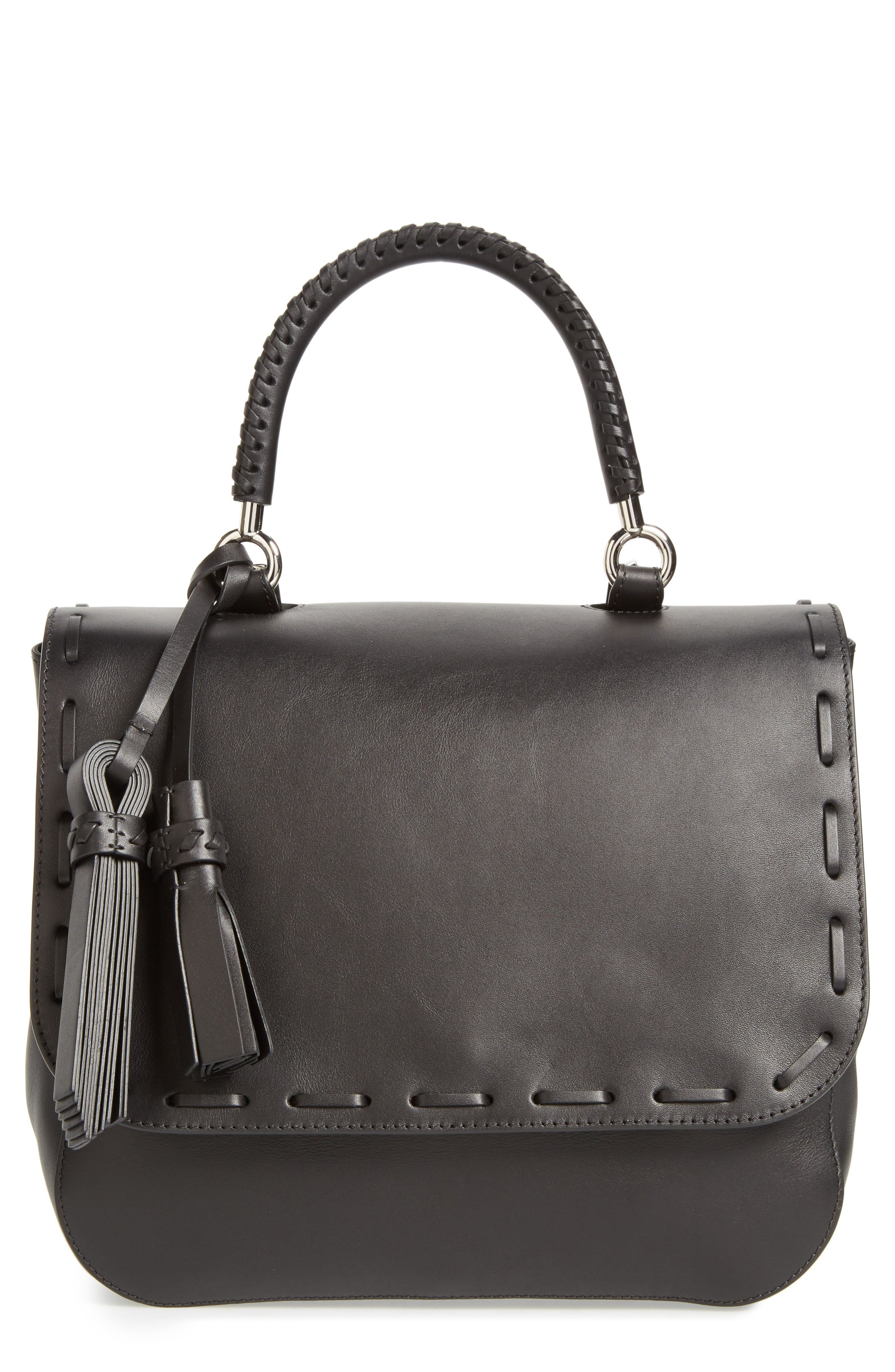 Max Mara BoBag Leather Satchel