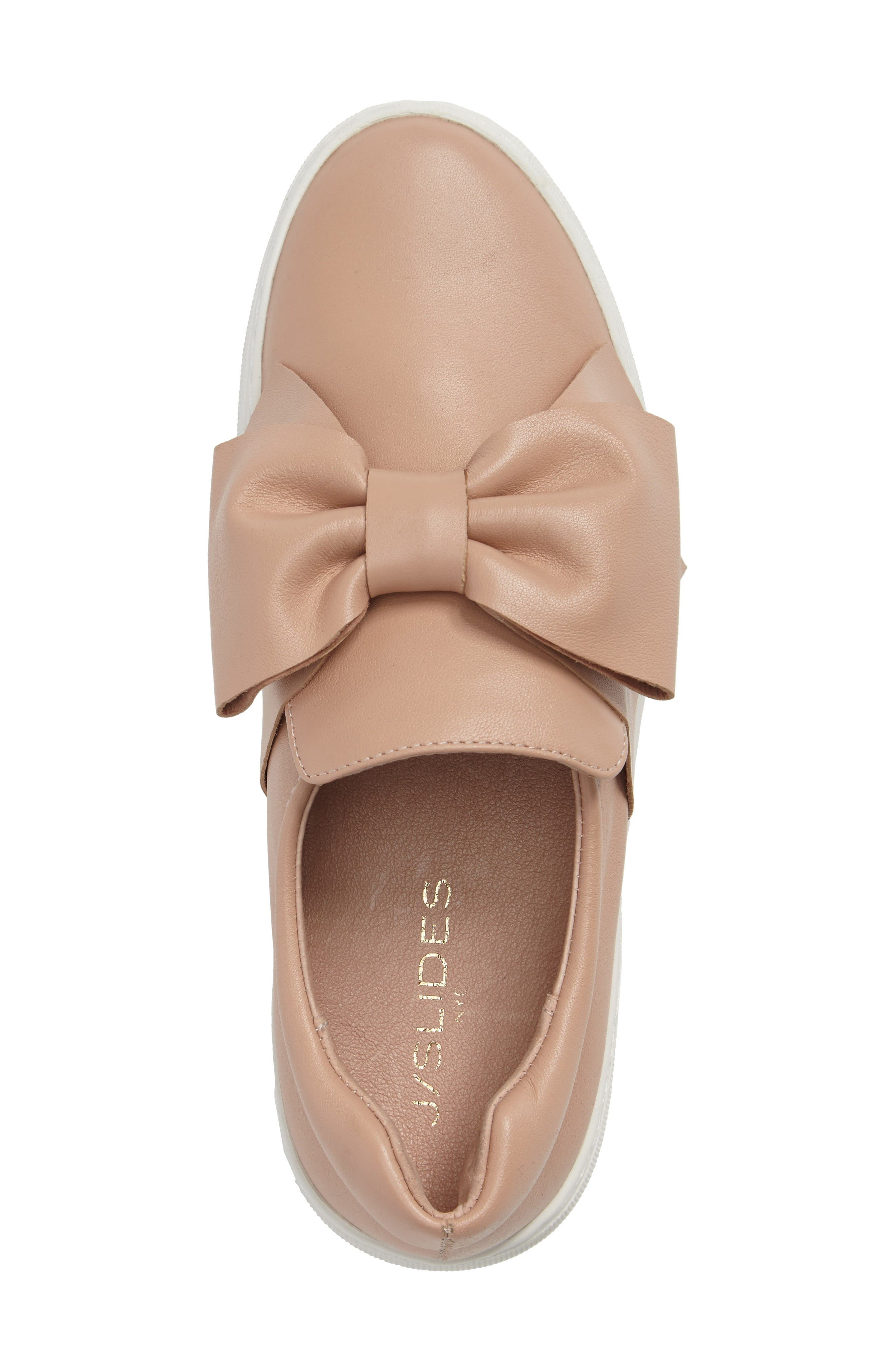 Alternate Image 3  - JSlides Beauty Bow Platform Slip-On Sneaker (Women)