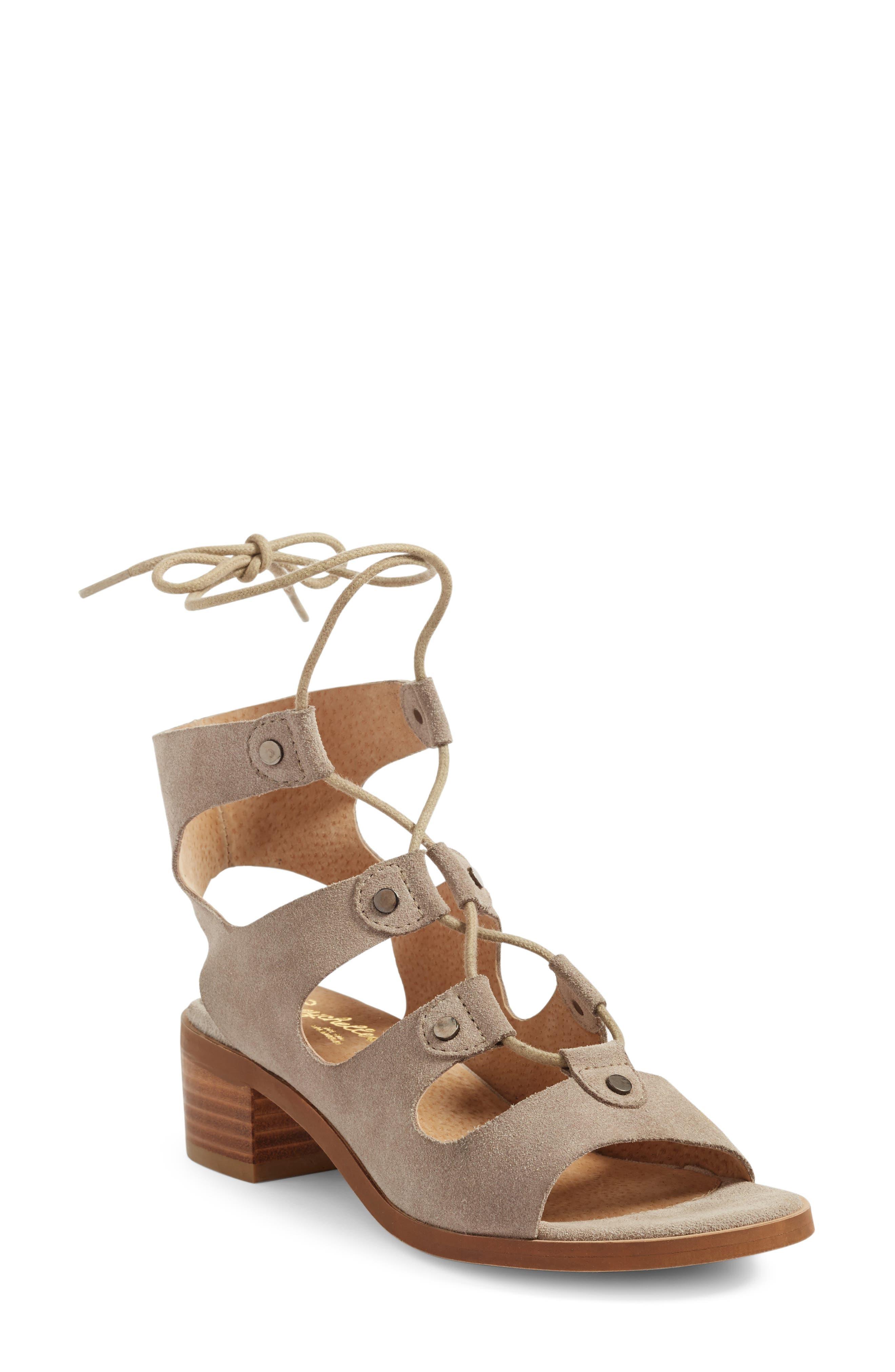 Seychelles Love Affair Lace-Up Sandal (Women)