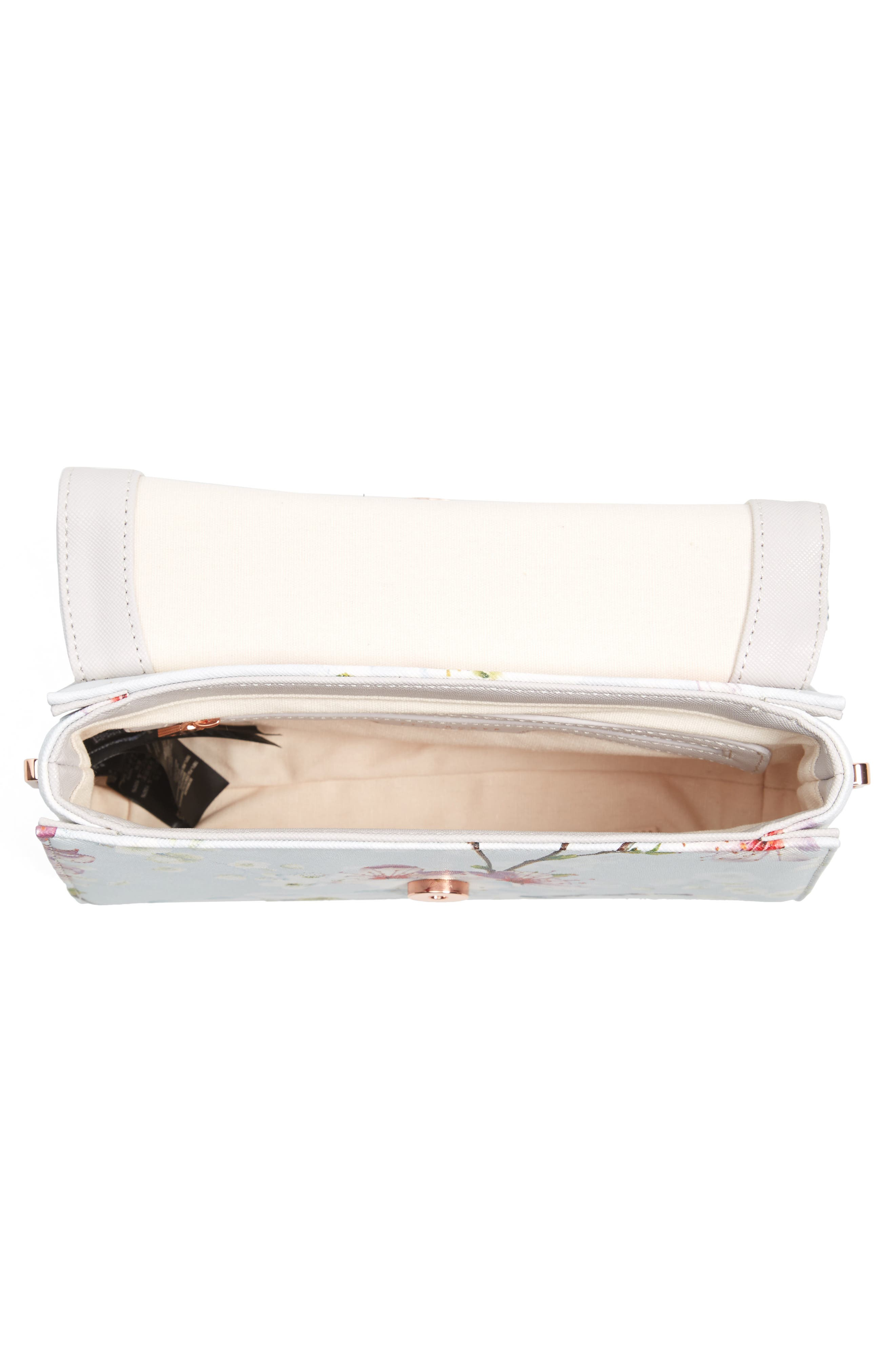 Alternate Image 3  - Ted Baker London Hadly Cherry Blossom Faux Leather Crossbody Bag