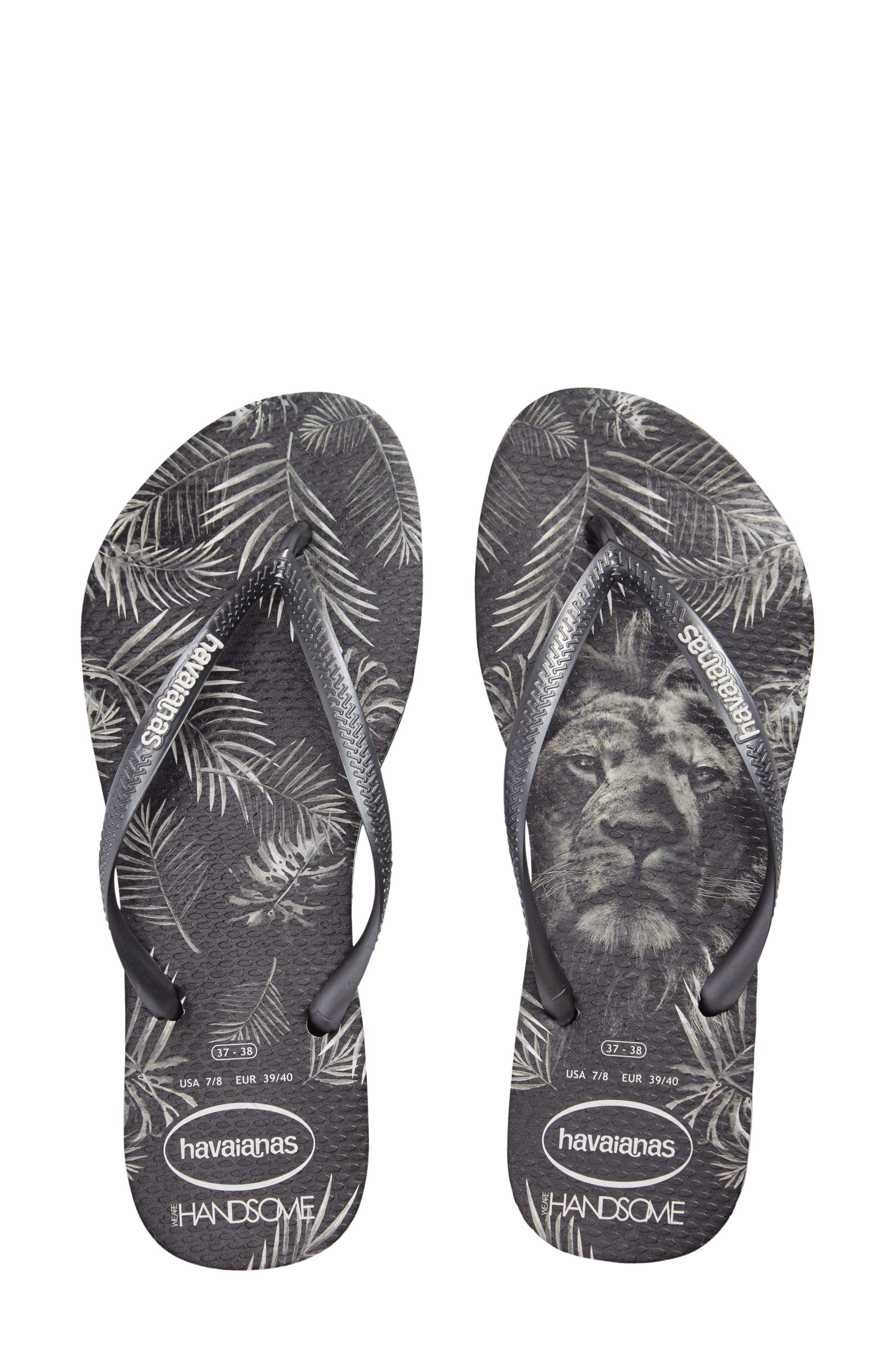 Main Image - Havaianas Slim Handsome Flip Flop (Women)