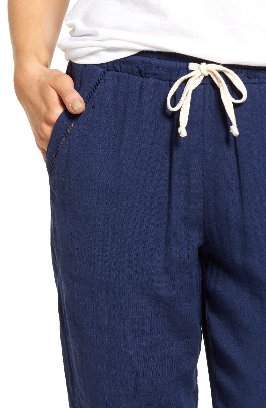 Alternate Image 4  - Splendid Double Cloth Cotton Pants