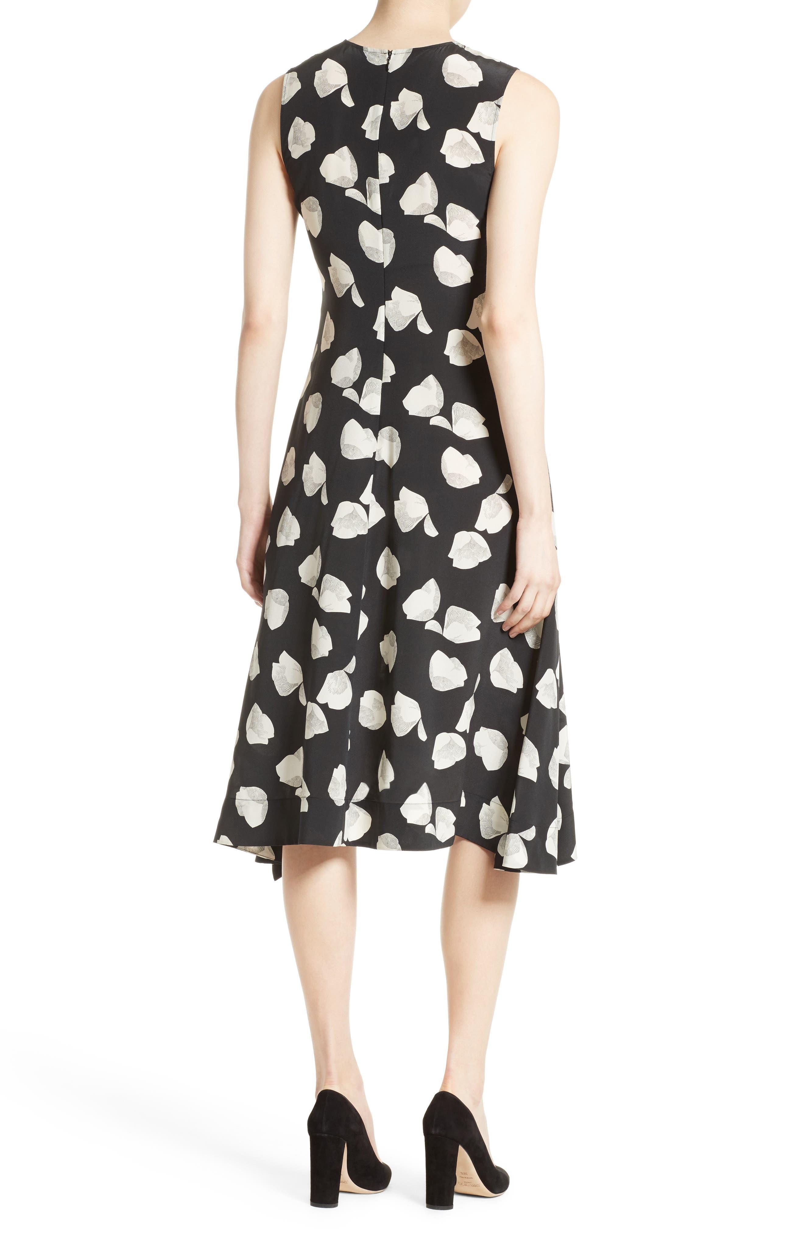 Alternate Image 2  - Theory Nophella B Harper Print Silk Dress