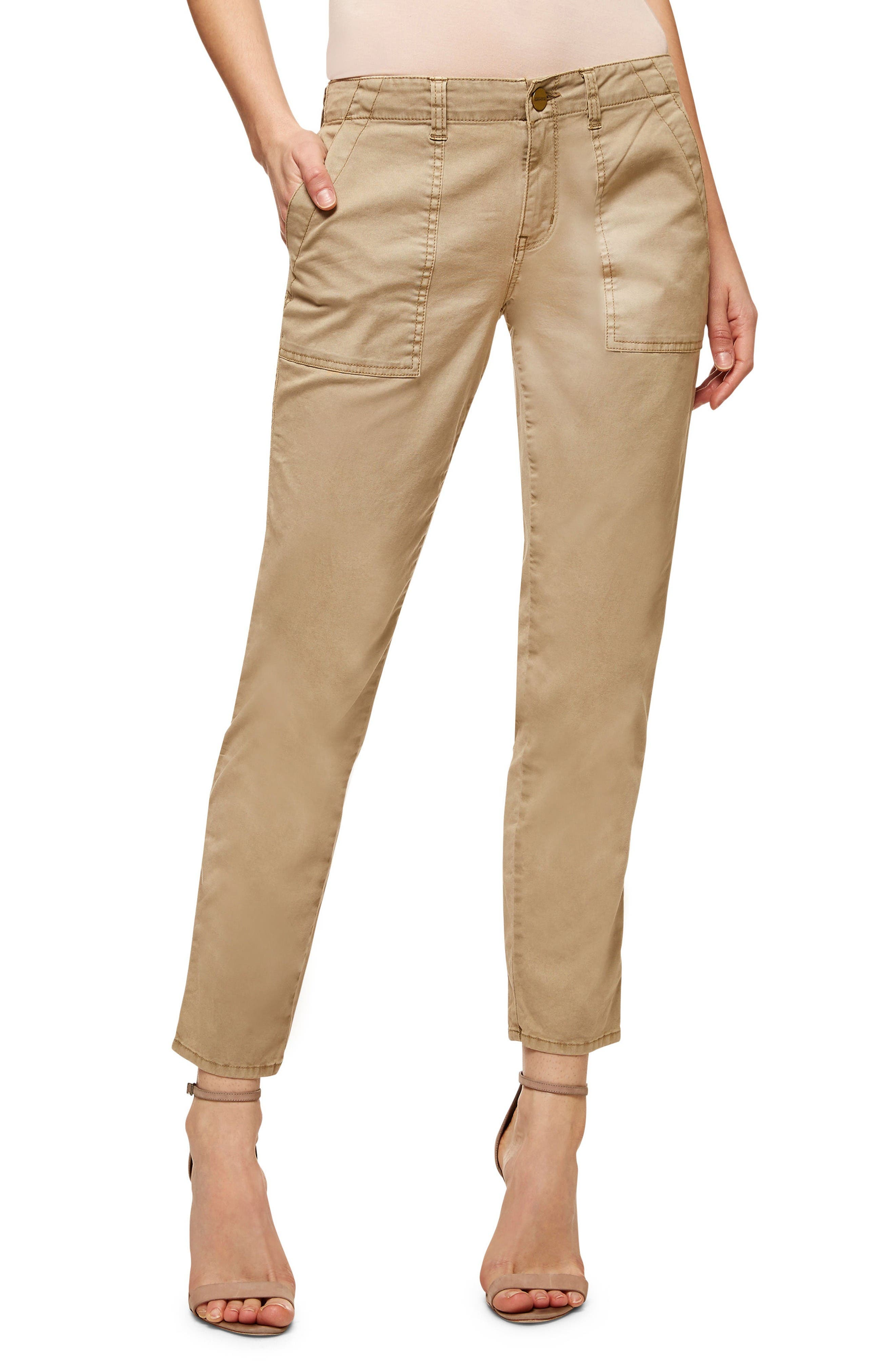 Sanctuary Sergent Crop Straight Leg Pants (Regular & Petite)