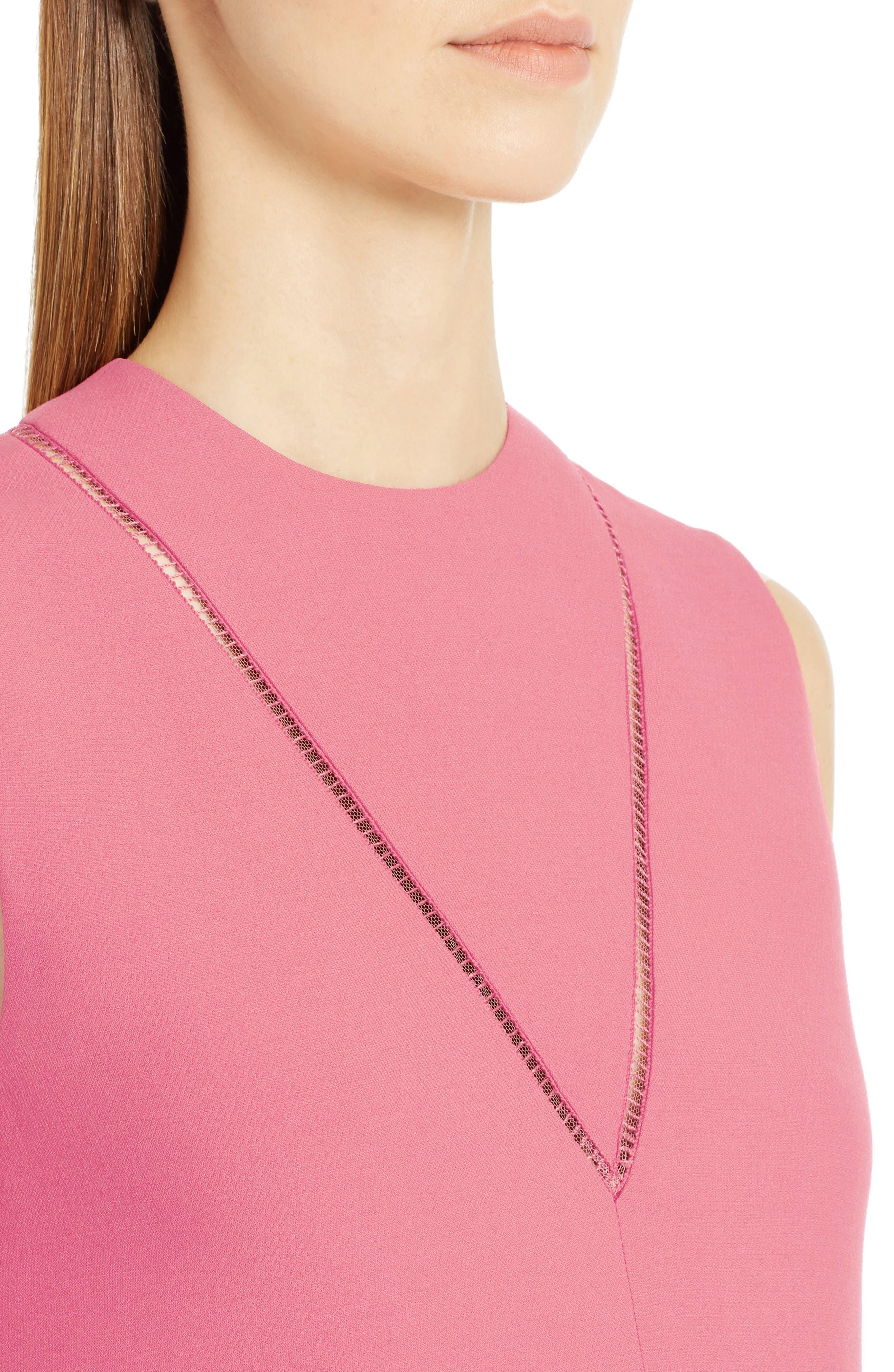 Alternate Image 5  - Valentino Wool & Silk Crepe A-Line Dress