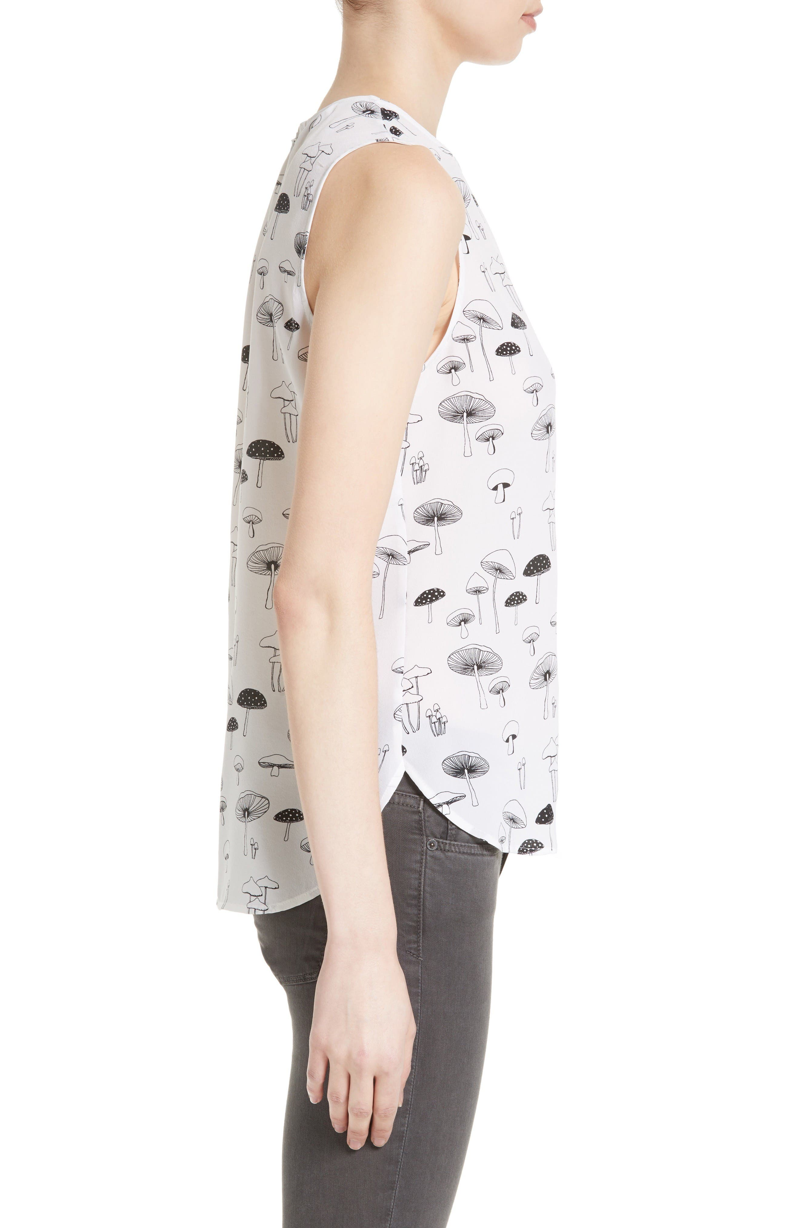 Alternate Image 3  - Equipment Lyle Mushroom Print Silk Top
