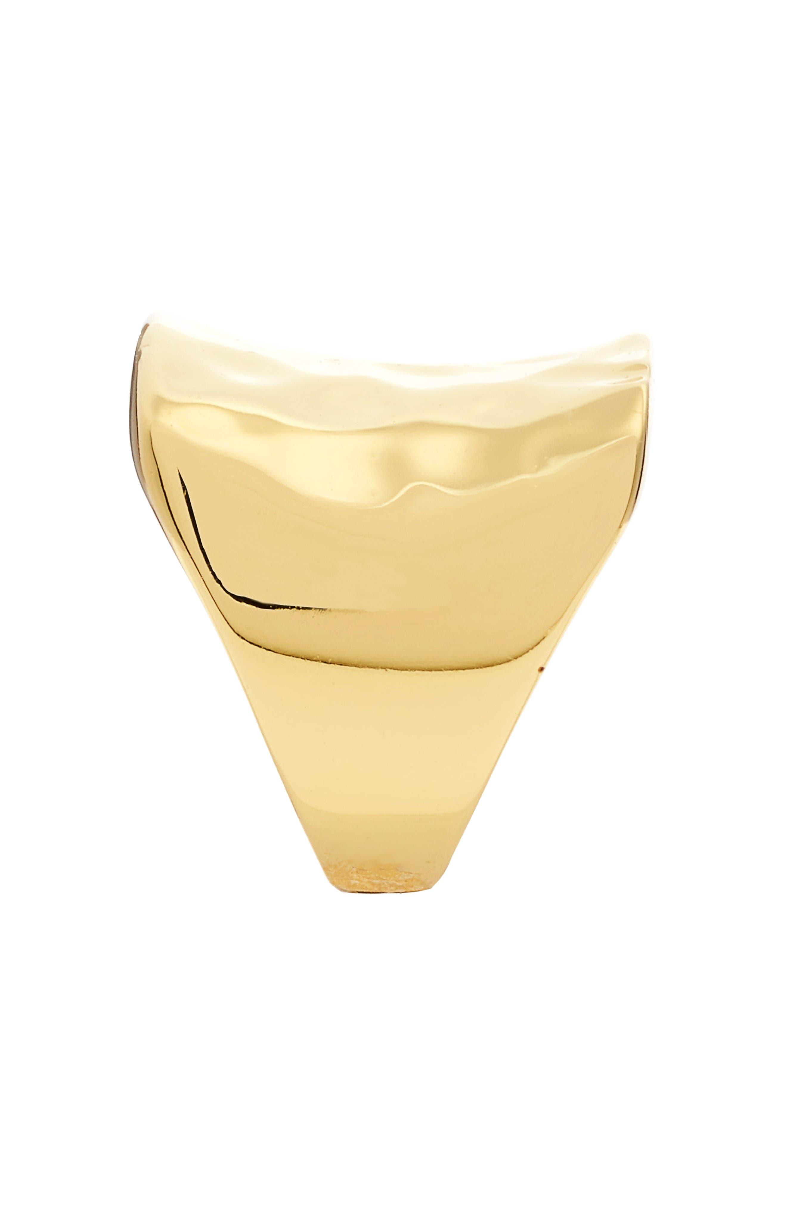 Alternate Image 2  - Argento Vivo Small Saddle Ring
