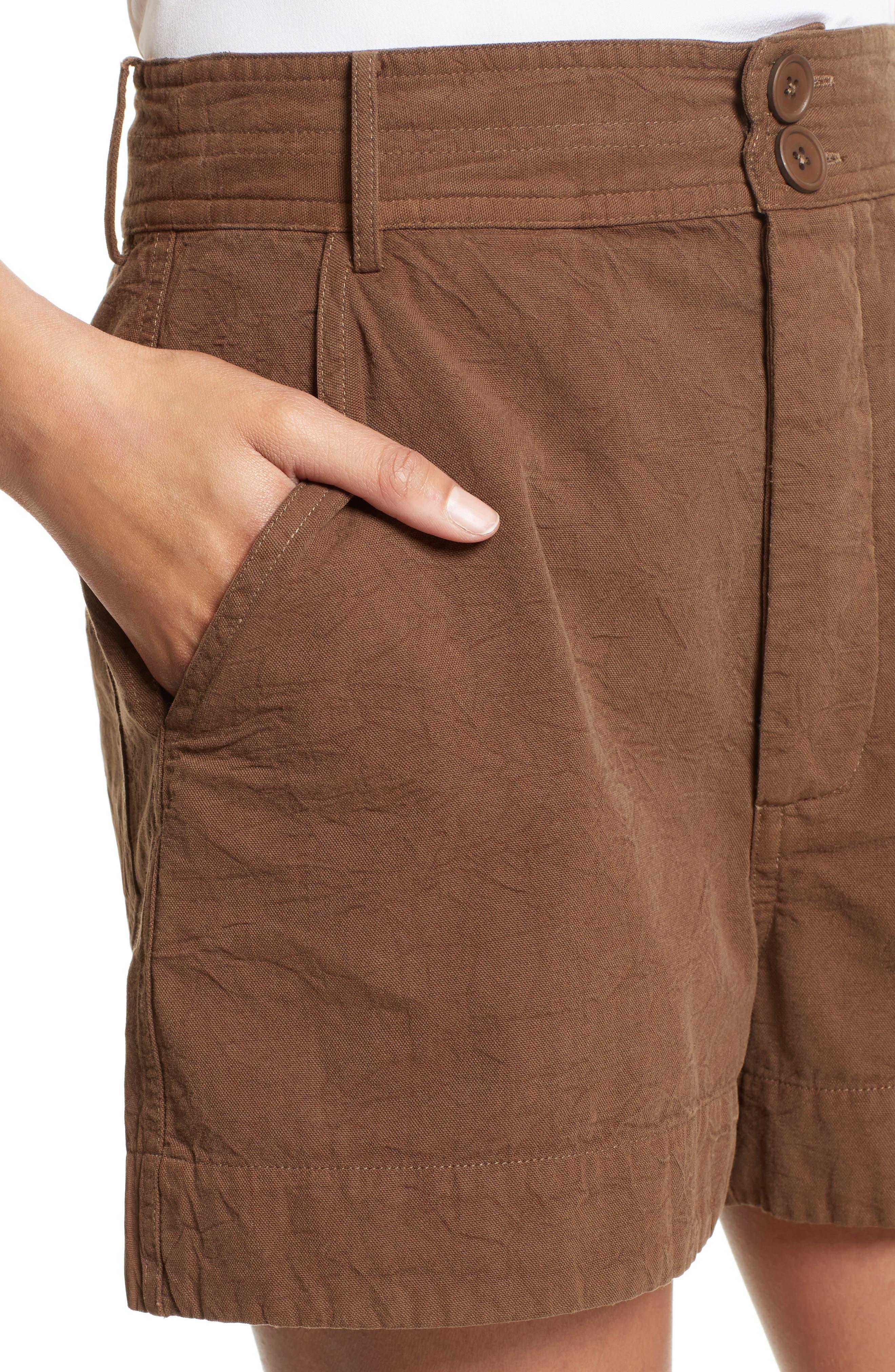 Alternate Image 4  - Apiece Apart Merida Cotton Shorts