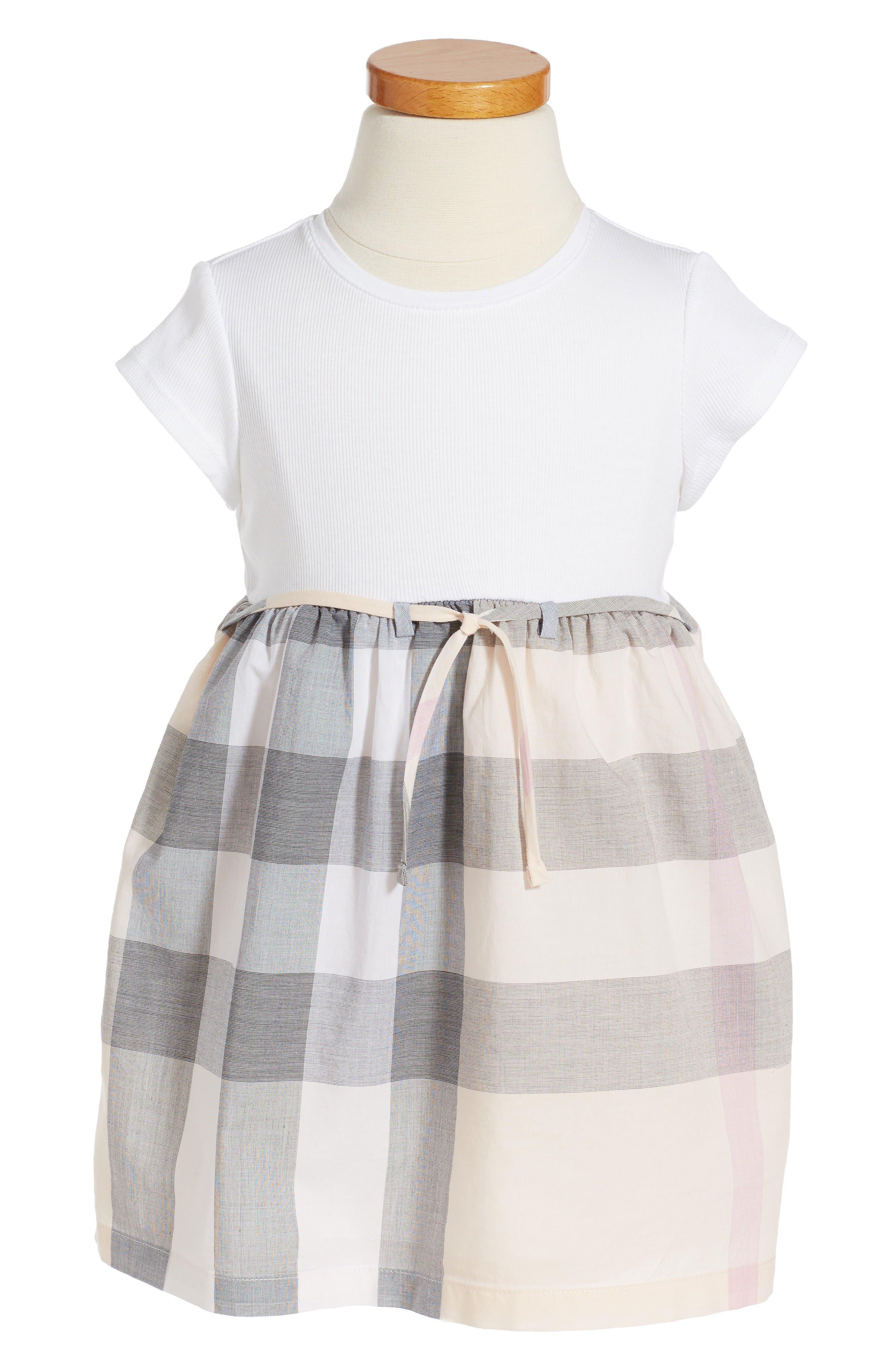 Burberry Mini Rosey Check Dress Baby Girls & Toddler