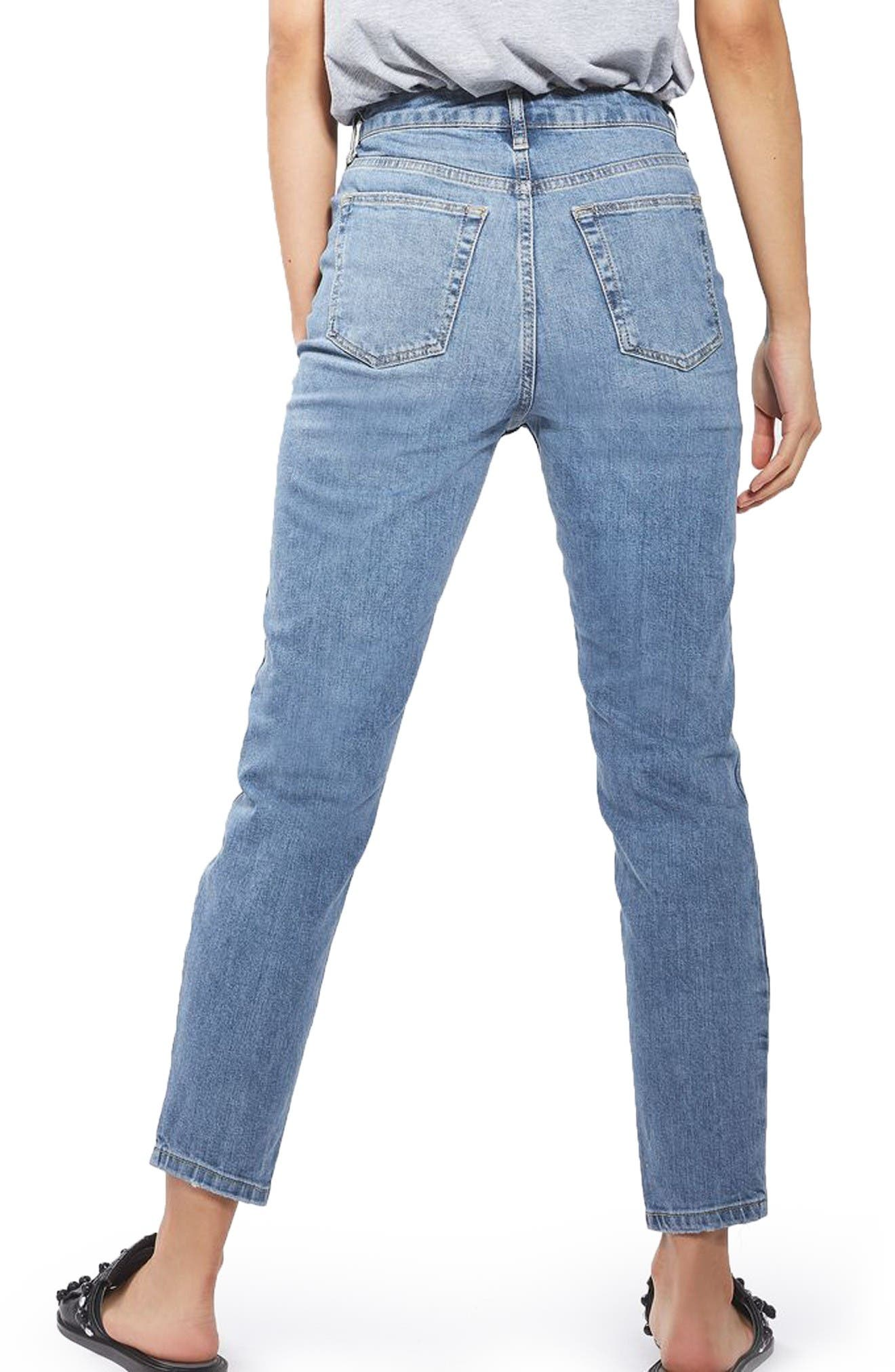 Alternate Image 3  - Topshop Orson Slim Fit Jeans