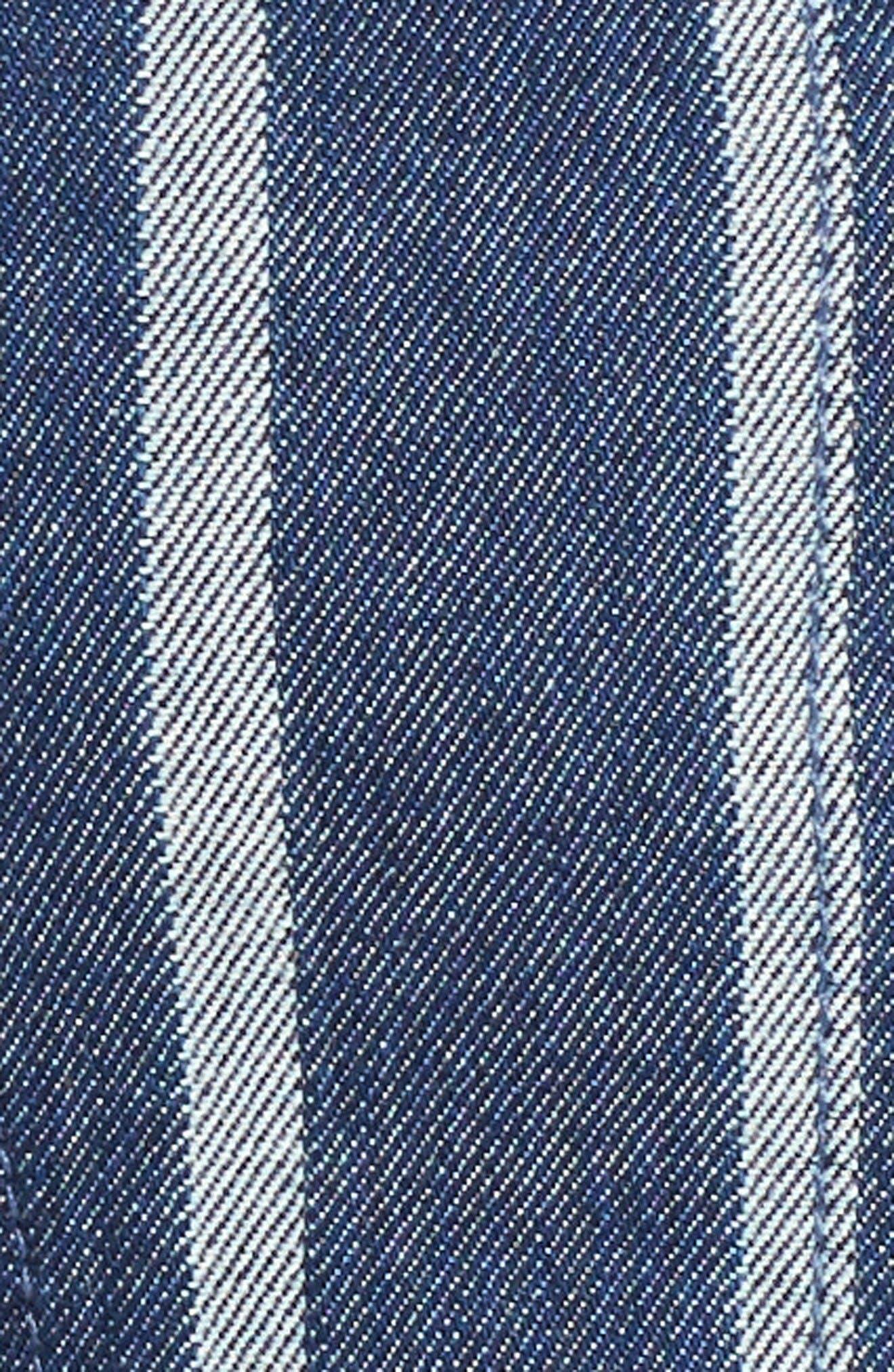 Alternate Image 5  - 7 For All Mankind® Denim Culotte Jumpsuit