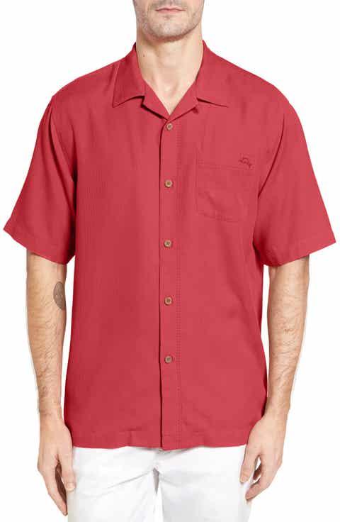 Tommy Bahama Royal Bermuda Silk Blend Camp Shirt (Big   Tall)