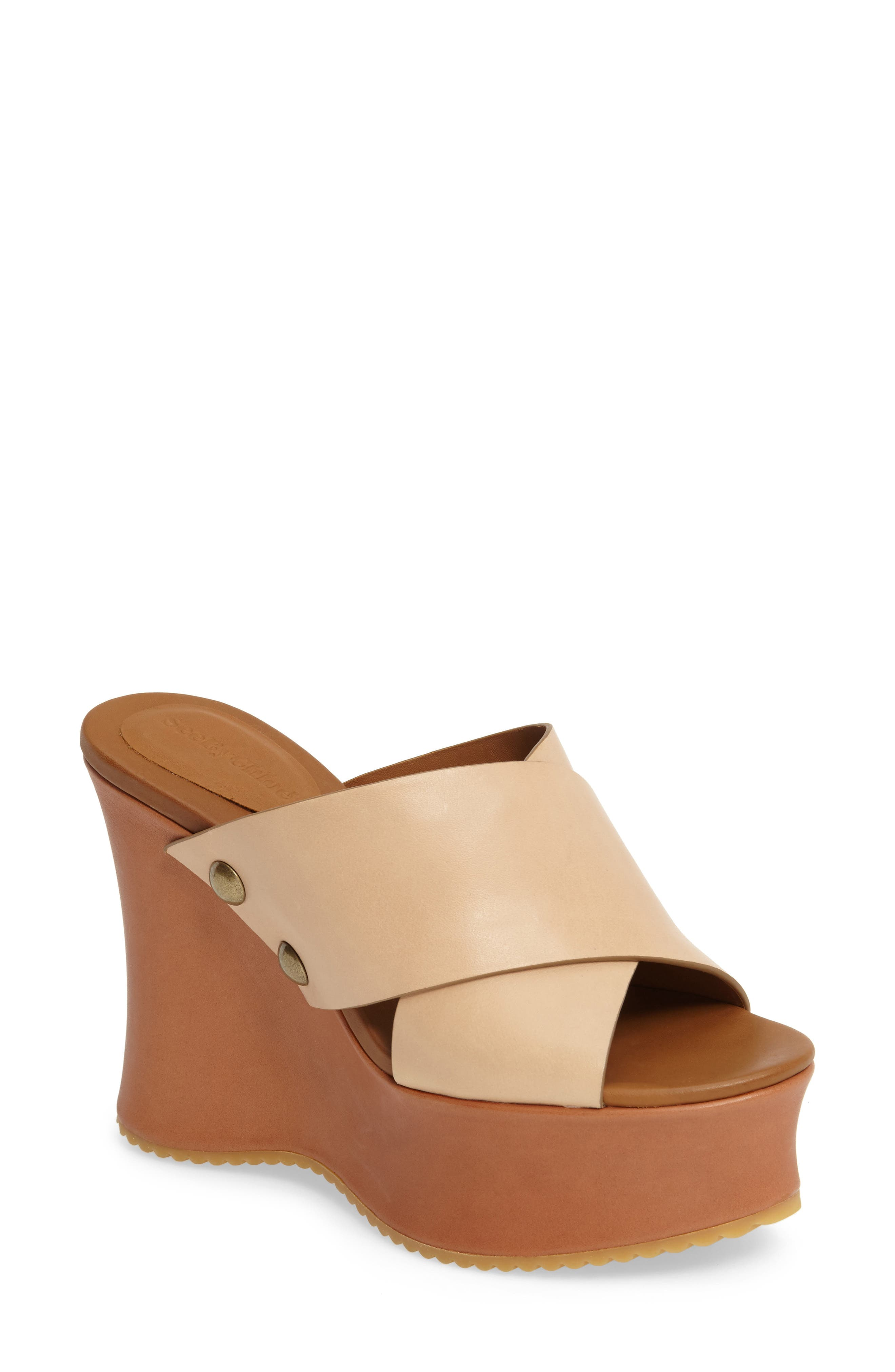 Alternate Image 1 Selected - See by Chloé Maya Platform Sandal (Women)