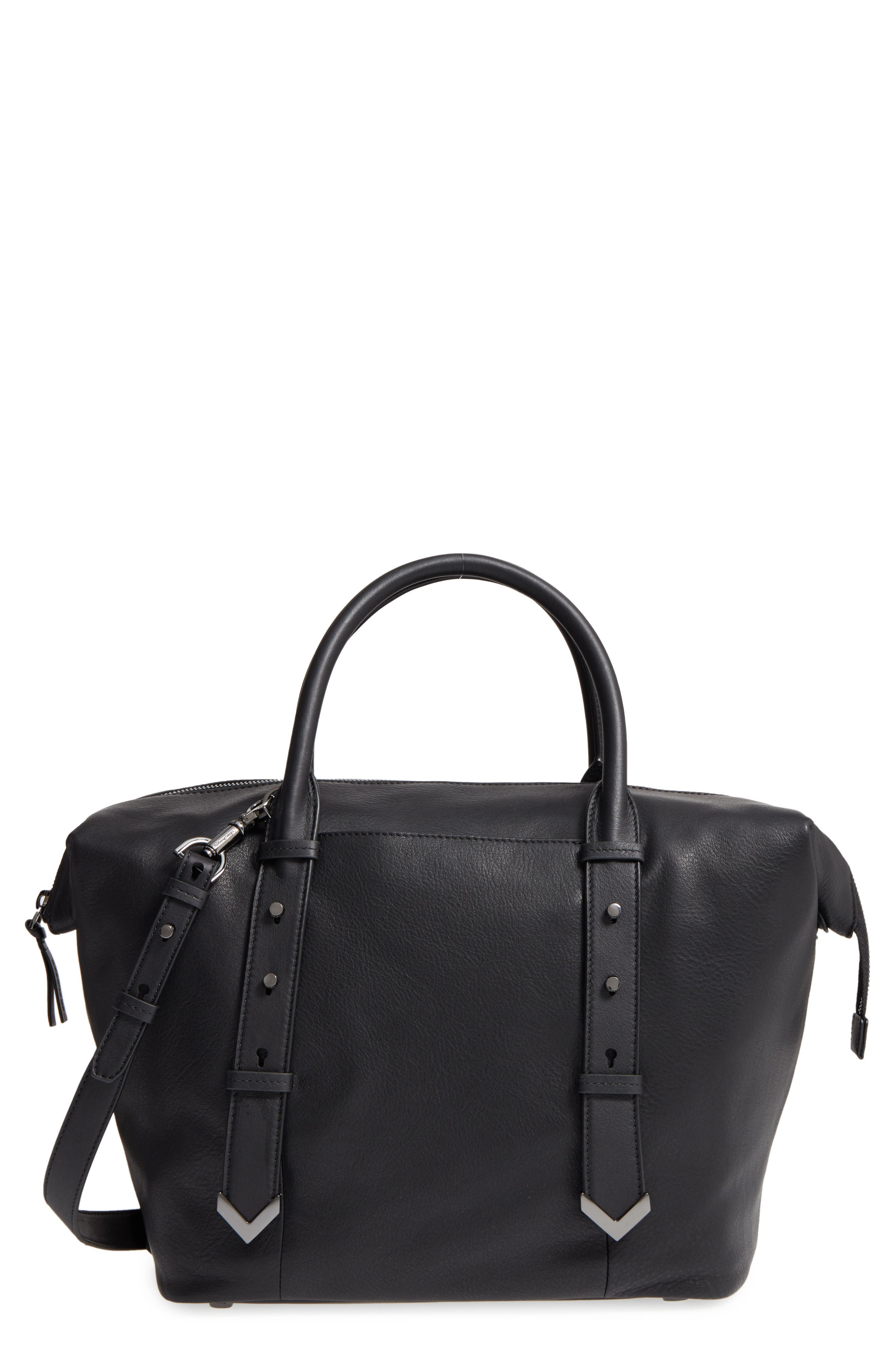 Mackage Doc Leather Satchel