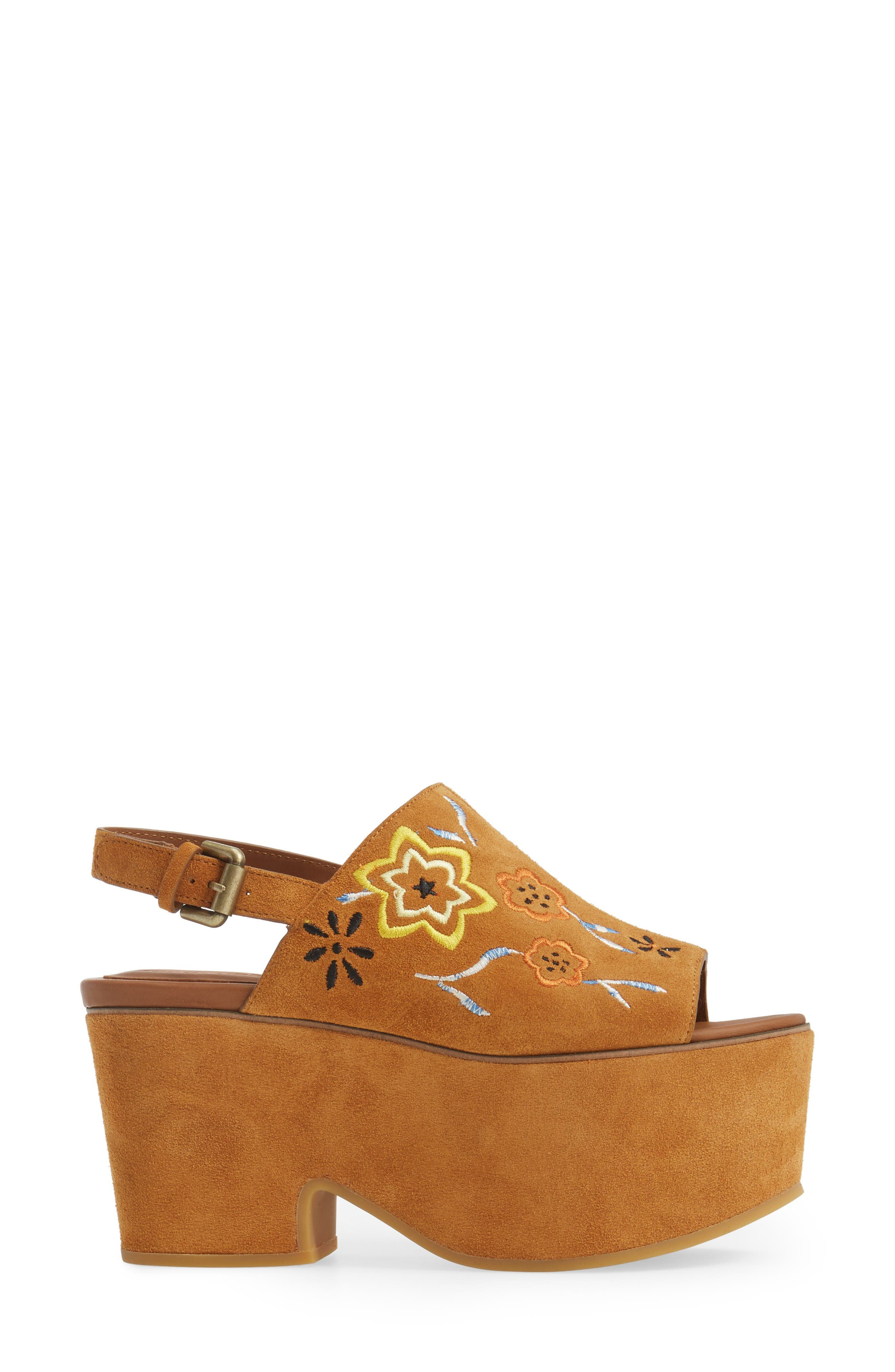 Alternate Image 3  - See by Chloé Dakota Platform Sandal (Women)