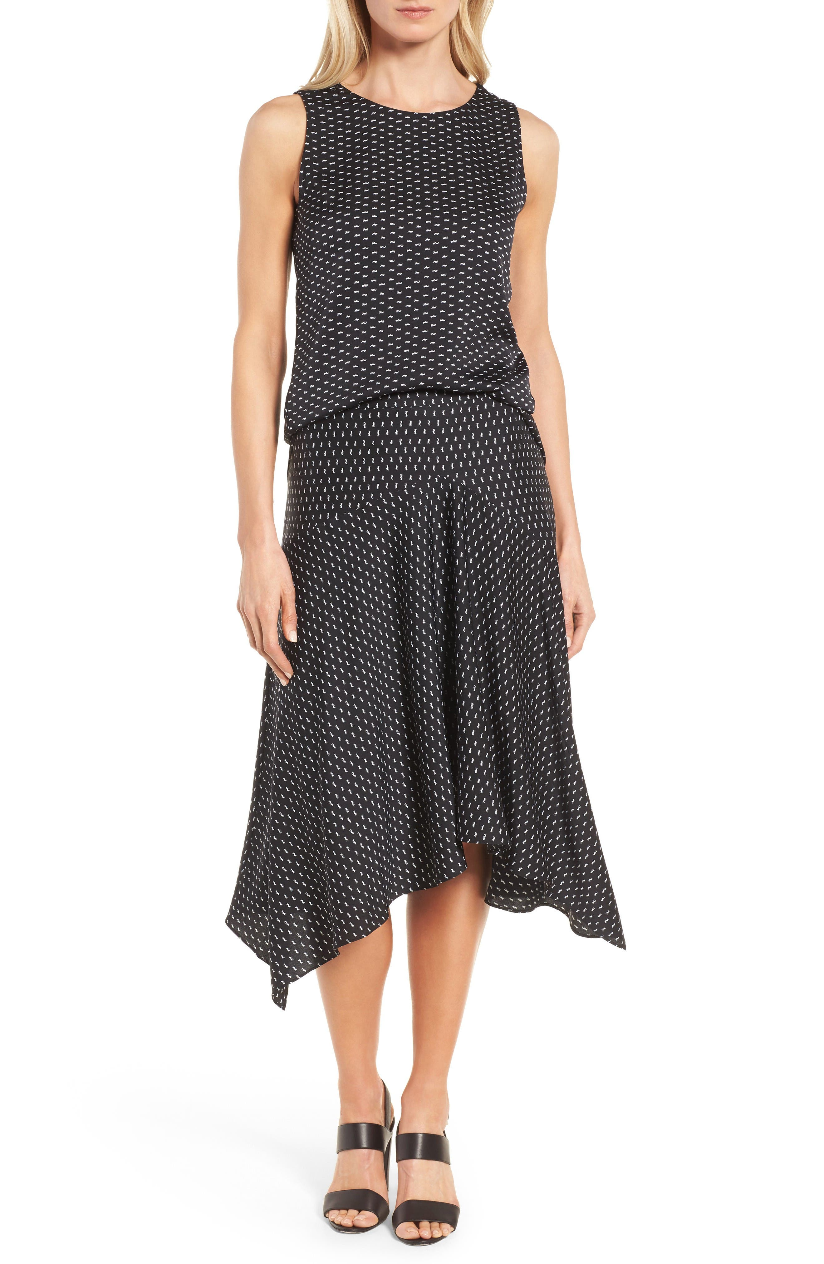 Alternate Image 2  - Classiques Entier® Stretch Silk Midi Skirt