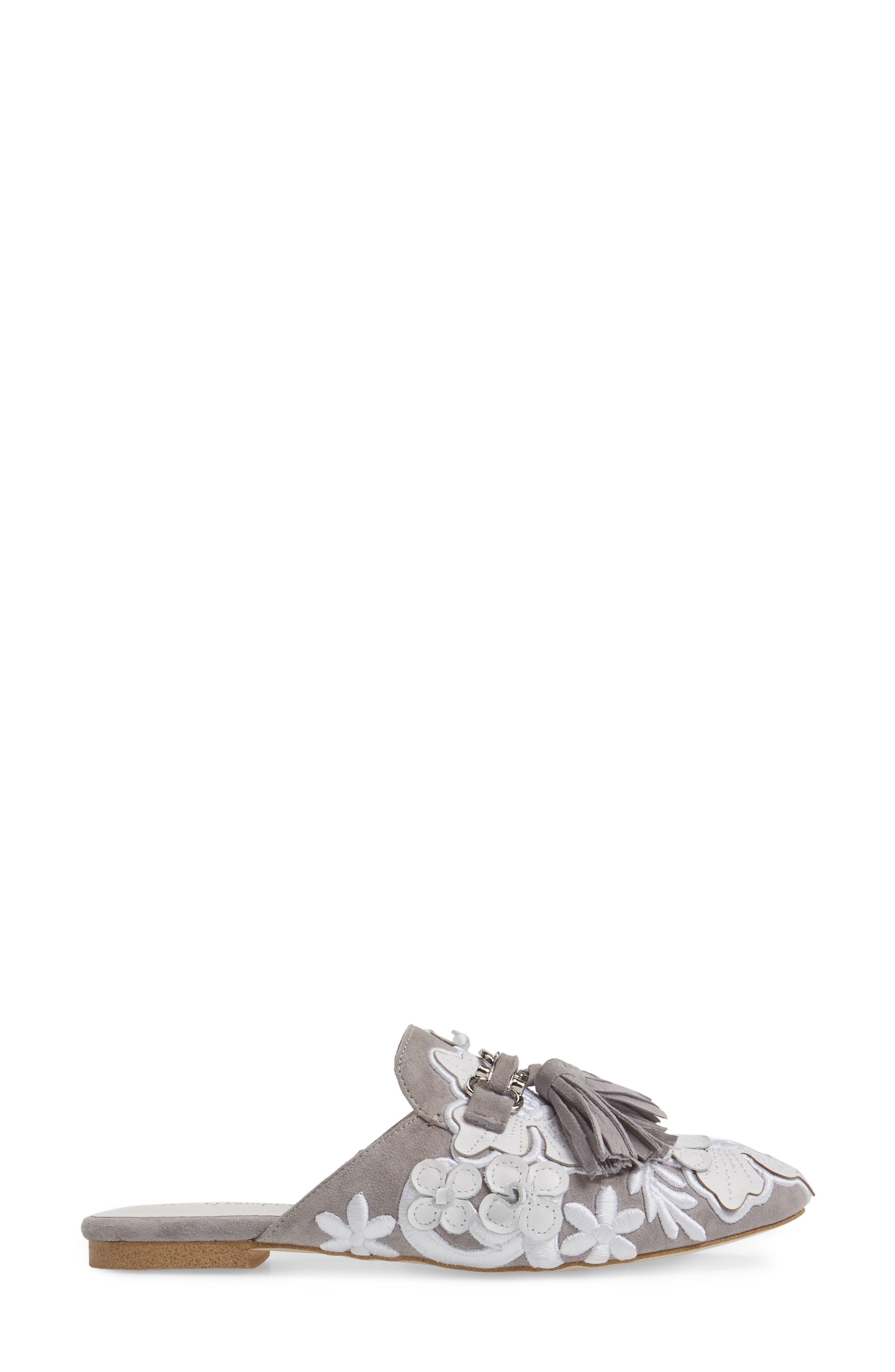 Alternate Image 3  - Jeffrey Campbell Ravis Flowered Loafer Mule (Women)