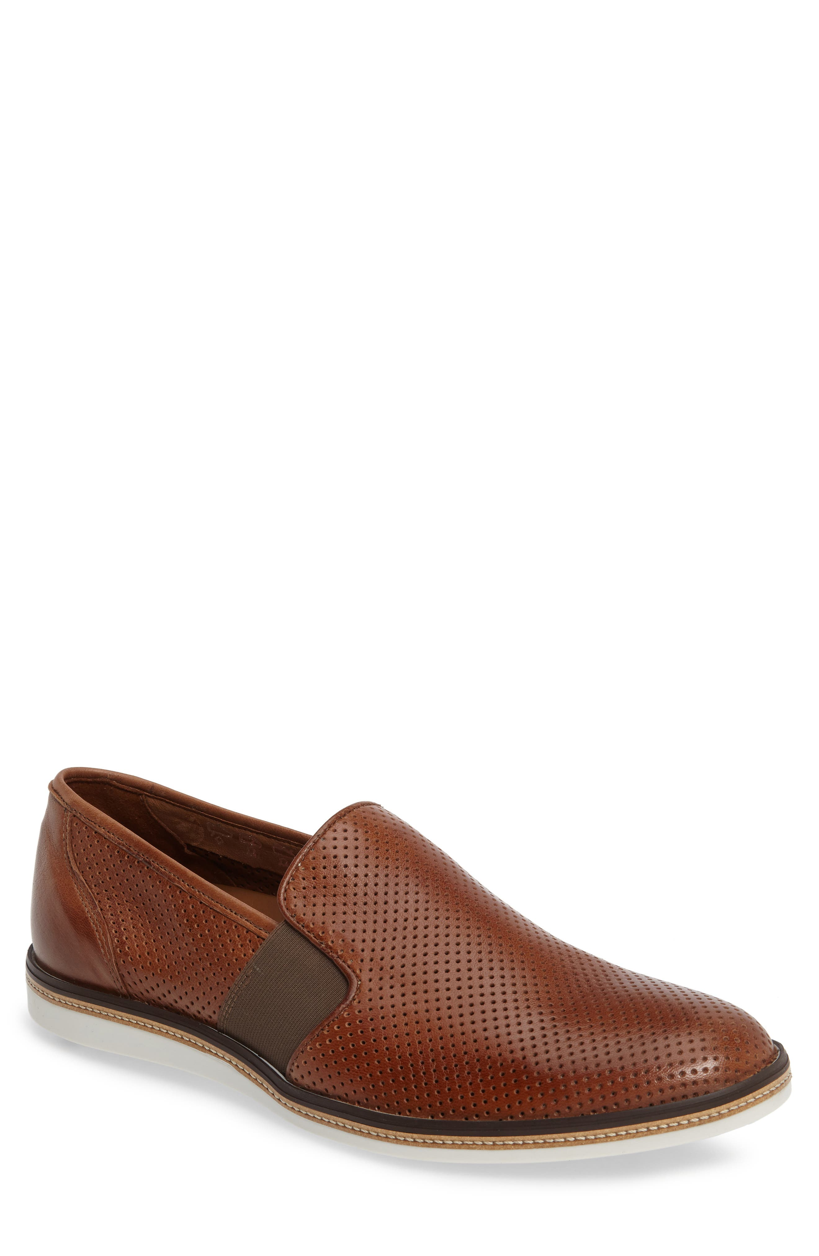 Lloyd Alister Perforated Loafer (Men)