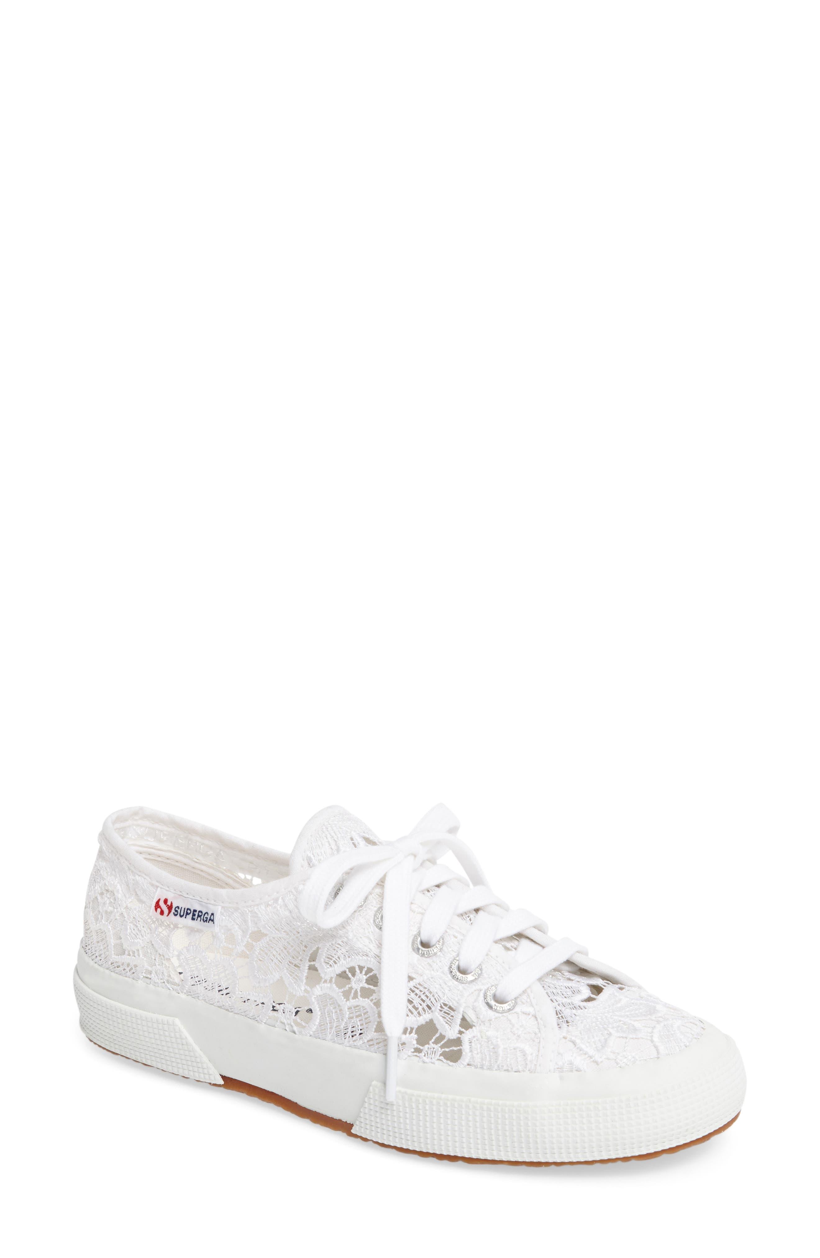 Superga Lace Sneaker (Women)