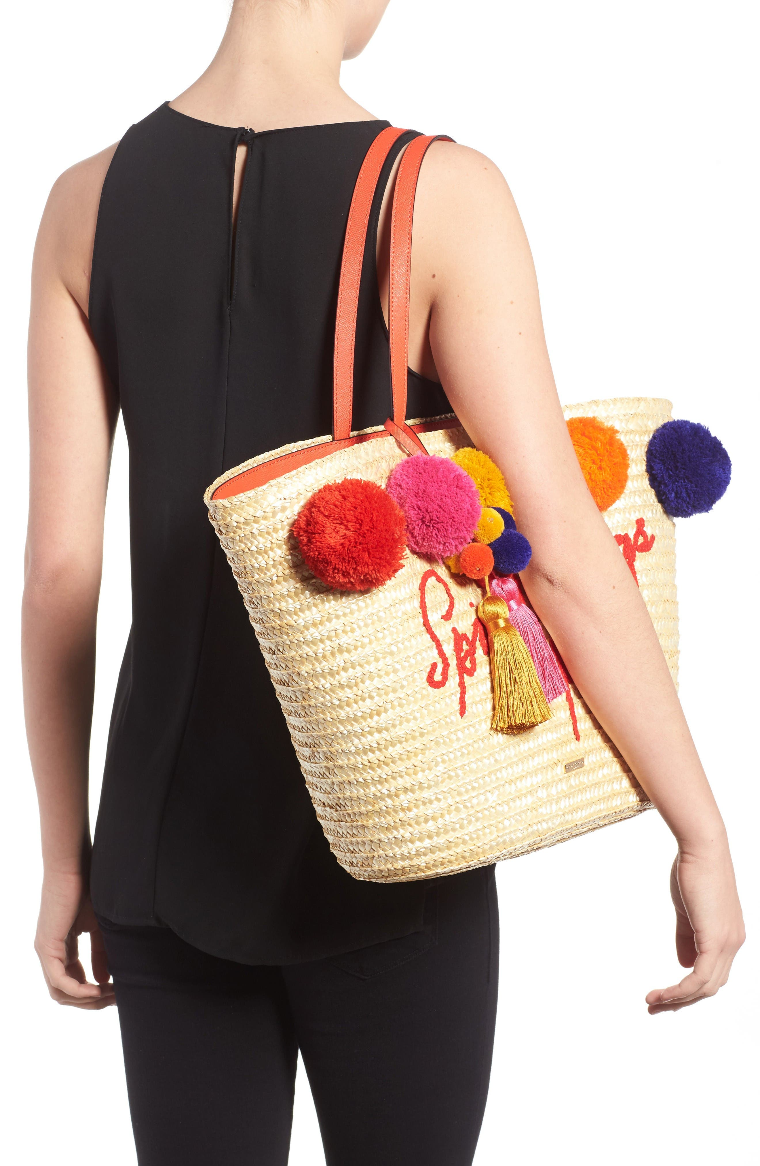 Alternate Image 2  - kate spade new york lewis way pompom tote