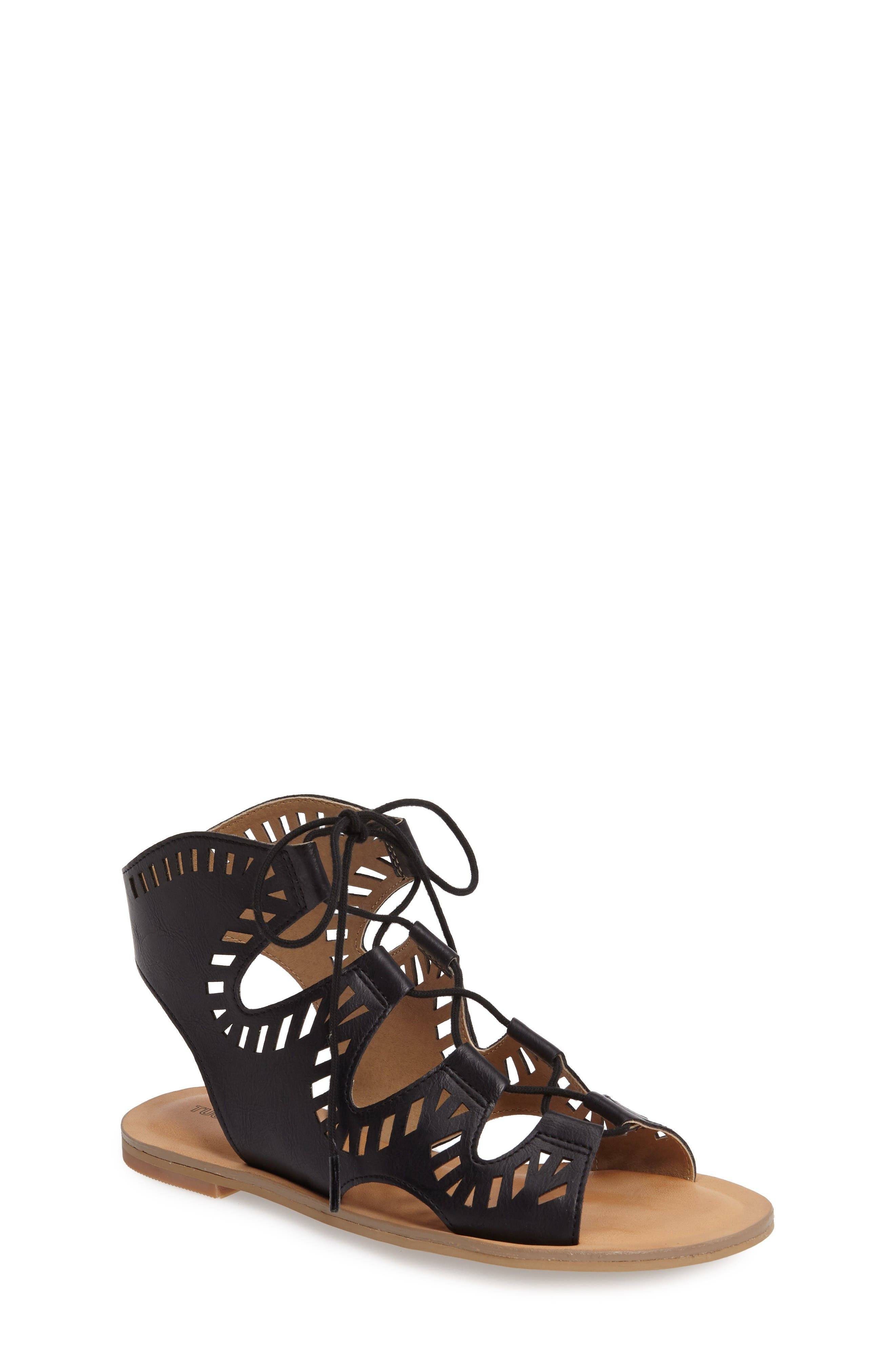 Tucker + Tate Ayva Perforated Sandal (Little Kid & Big Kid)