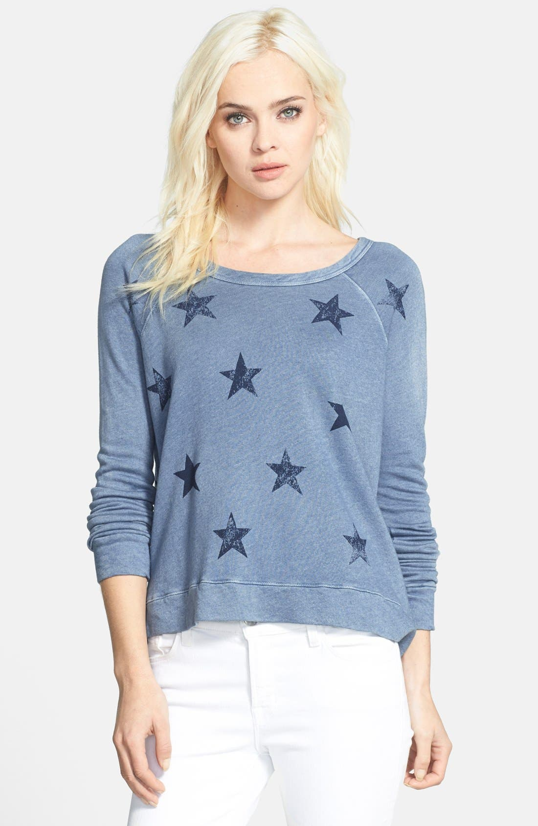Main Image - Sundry Crop Pullover