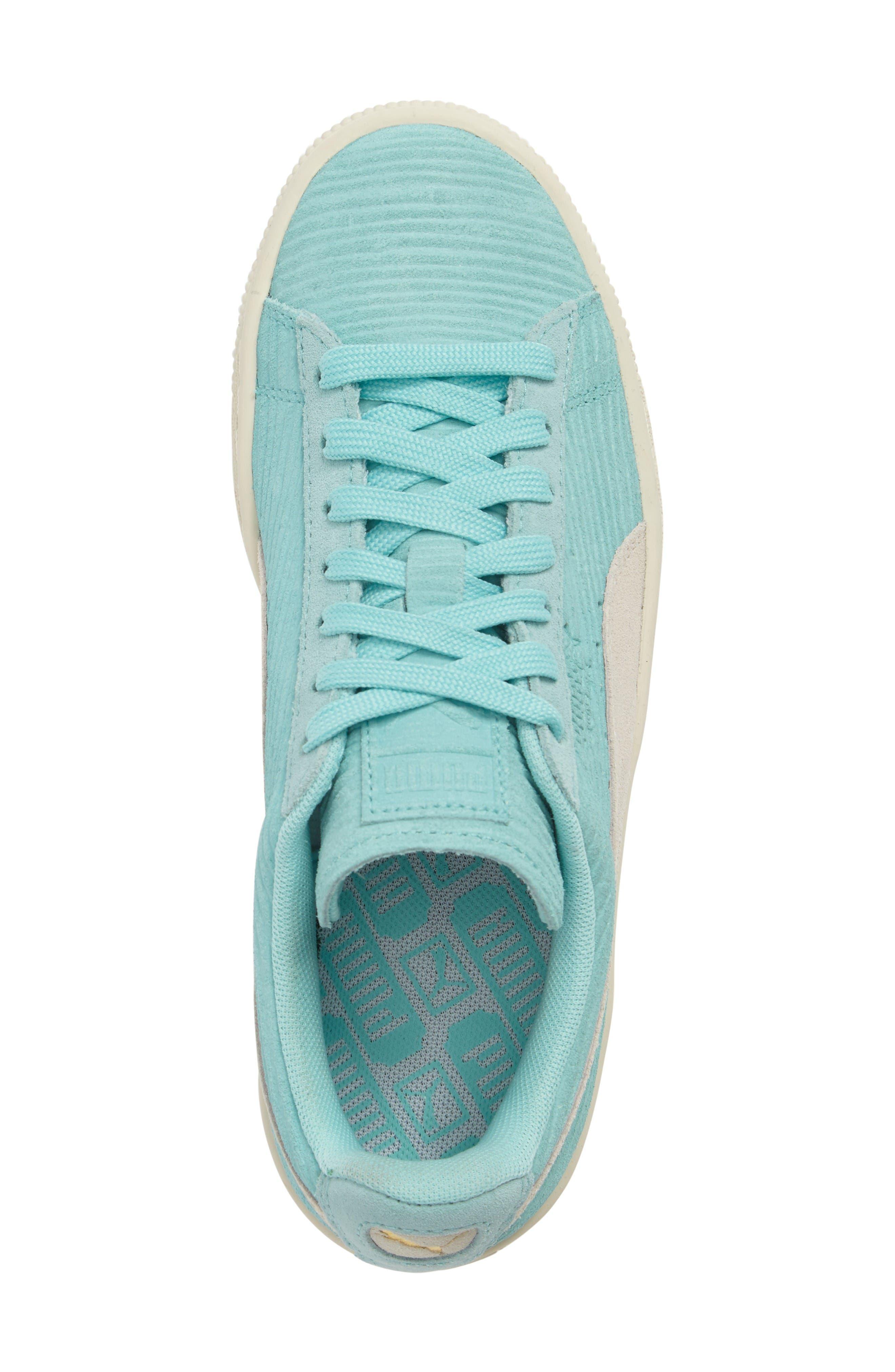 Alternate Image 5  - PUMA Suede Classic Embossed Sneaker (Women)