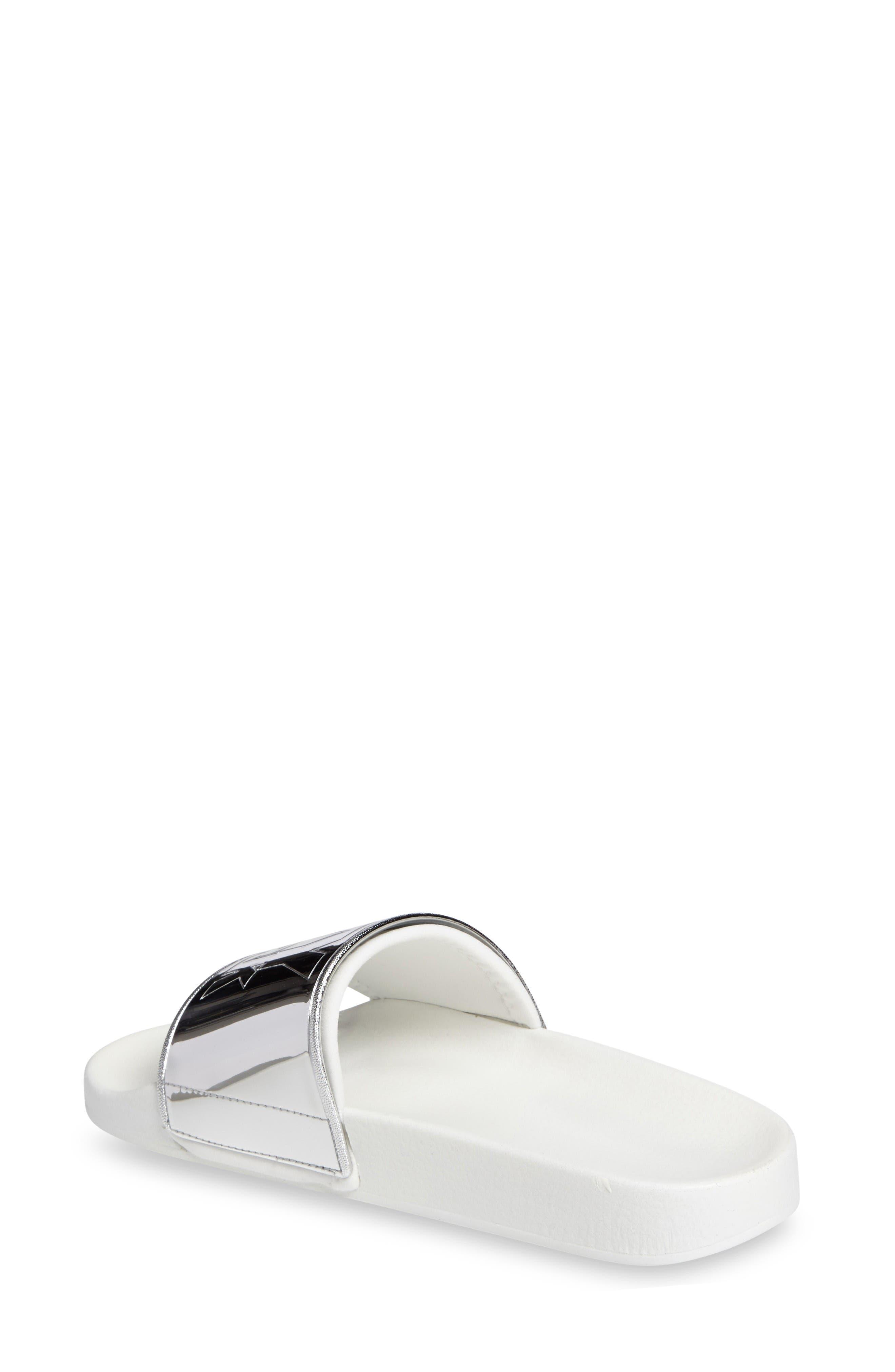 Alternate Image 2  - IVY PARK® Mirror Logo Slide Sandal (Women)