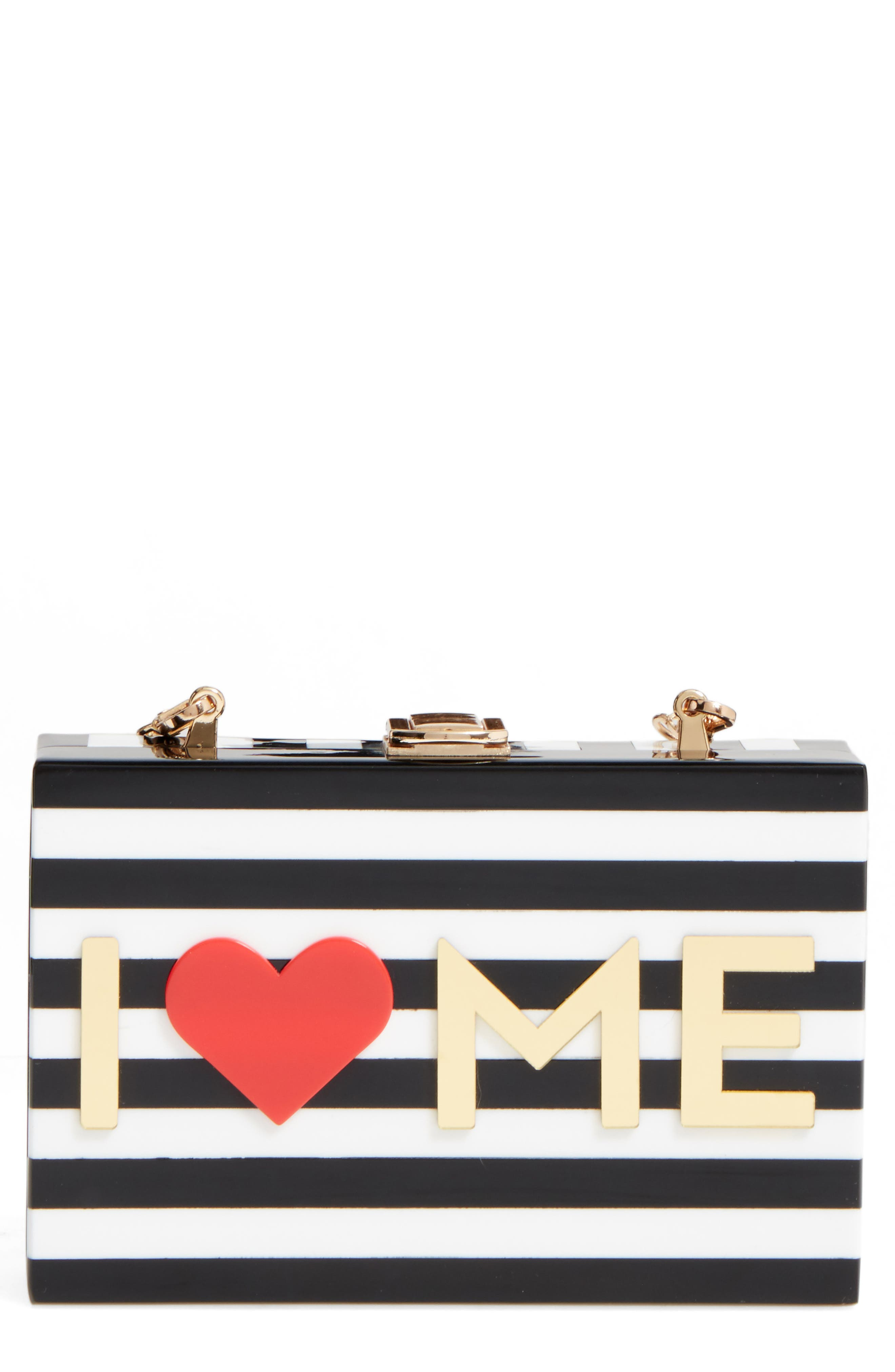 Alternate Image 1 Selected - Milly I Heart Me Box Clutch