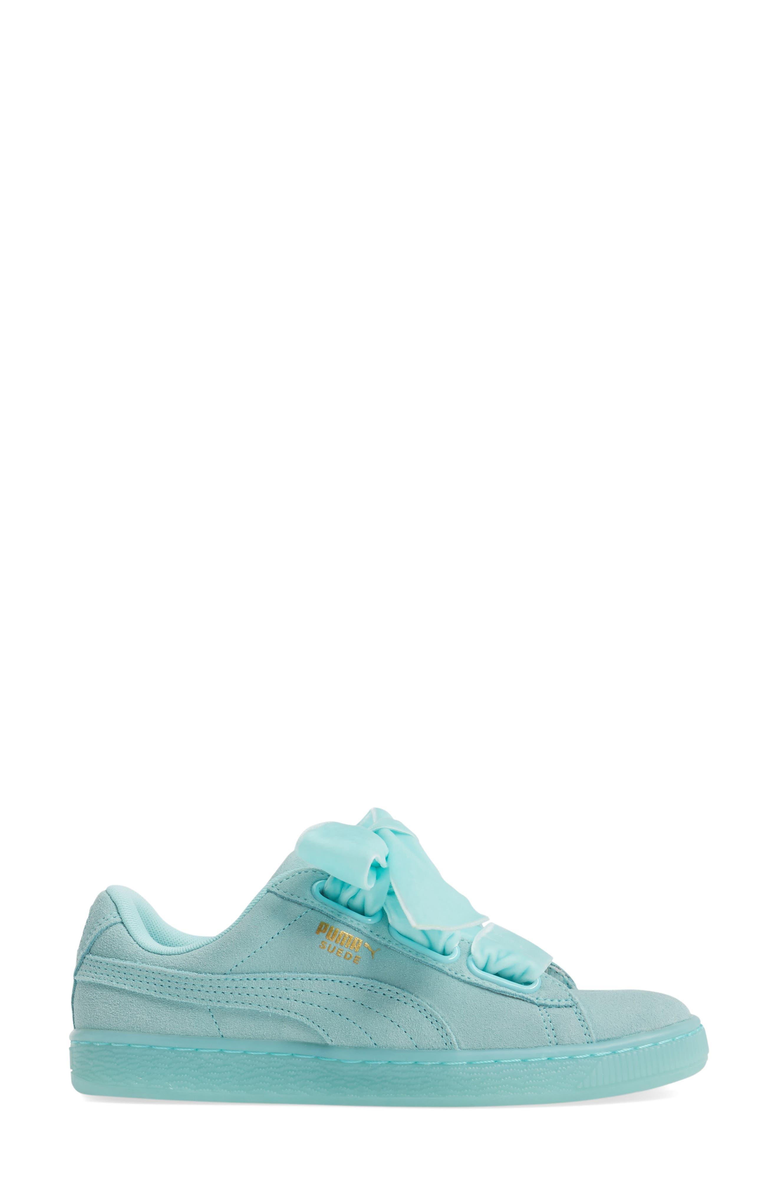 Alternate Image 3  - PUMA Suede - Heart Sneaker (Women)