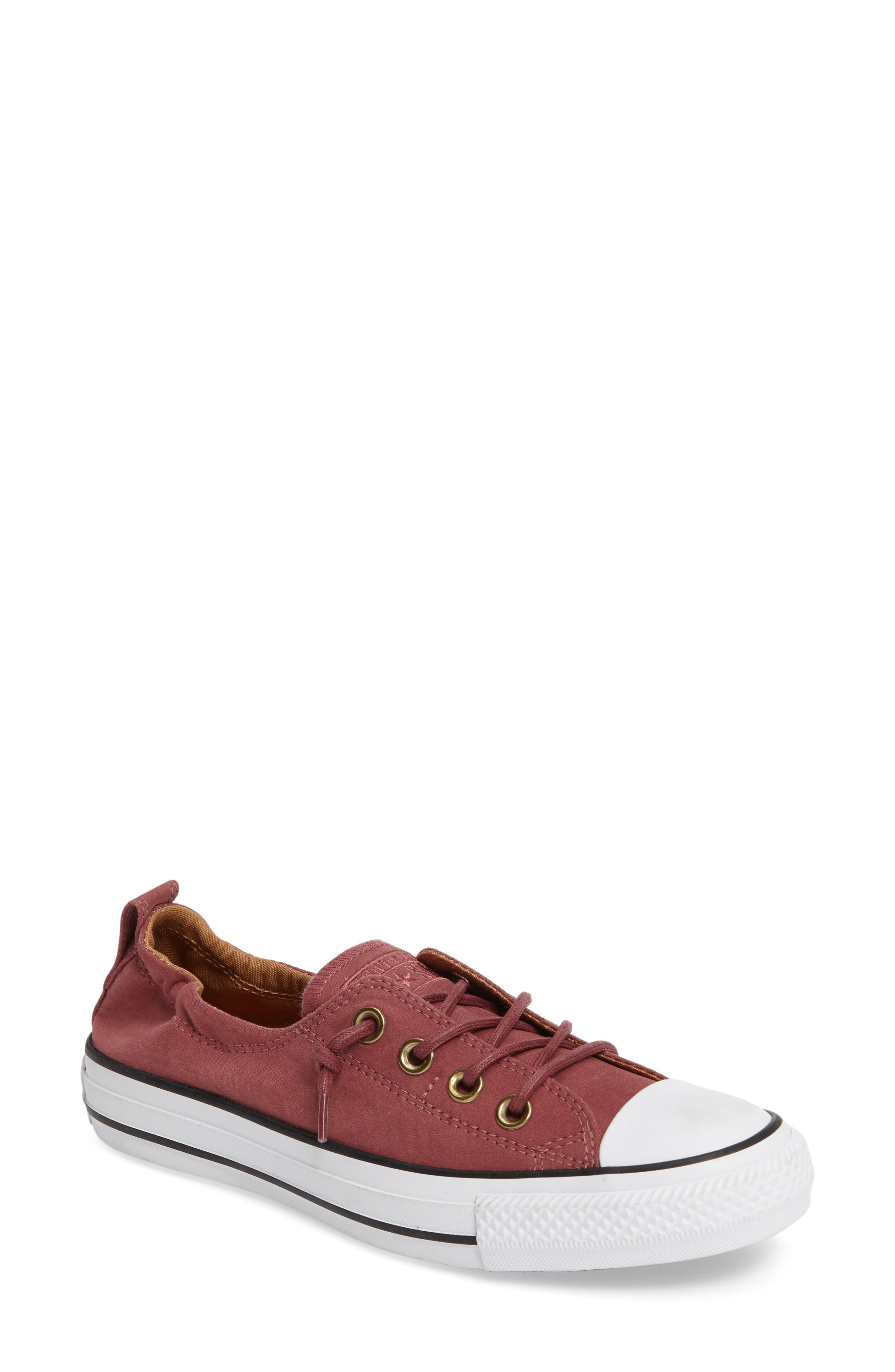 Alternate Image 1 Selected - Converse Chuck Taylor® All Star® Shoreline Peached Twill Sneaker (Women)