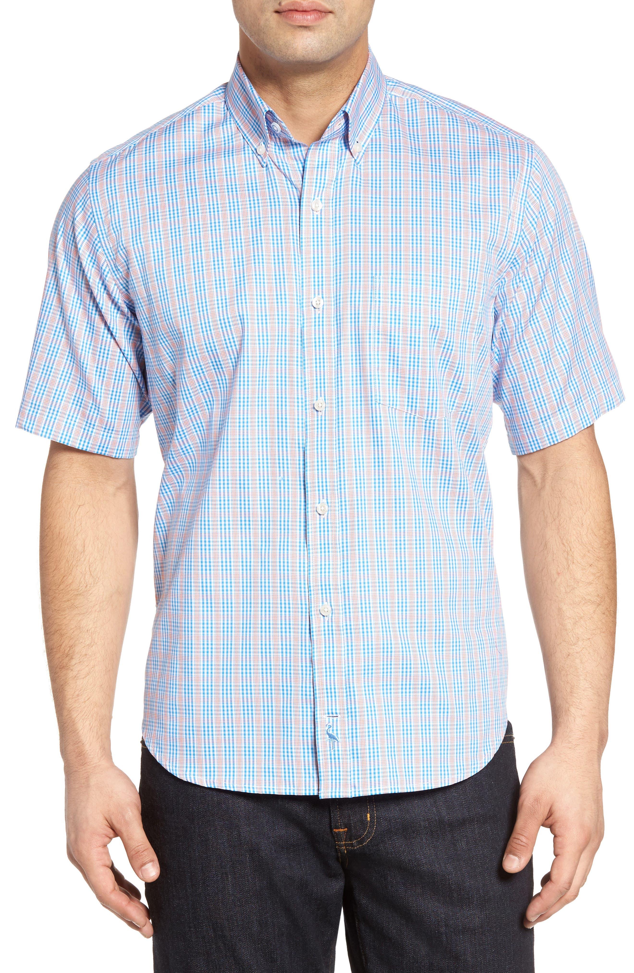 TailorByrd Karoo Plaid Sport Shirt (Big & Tall)