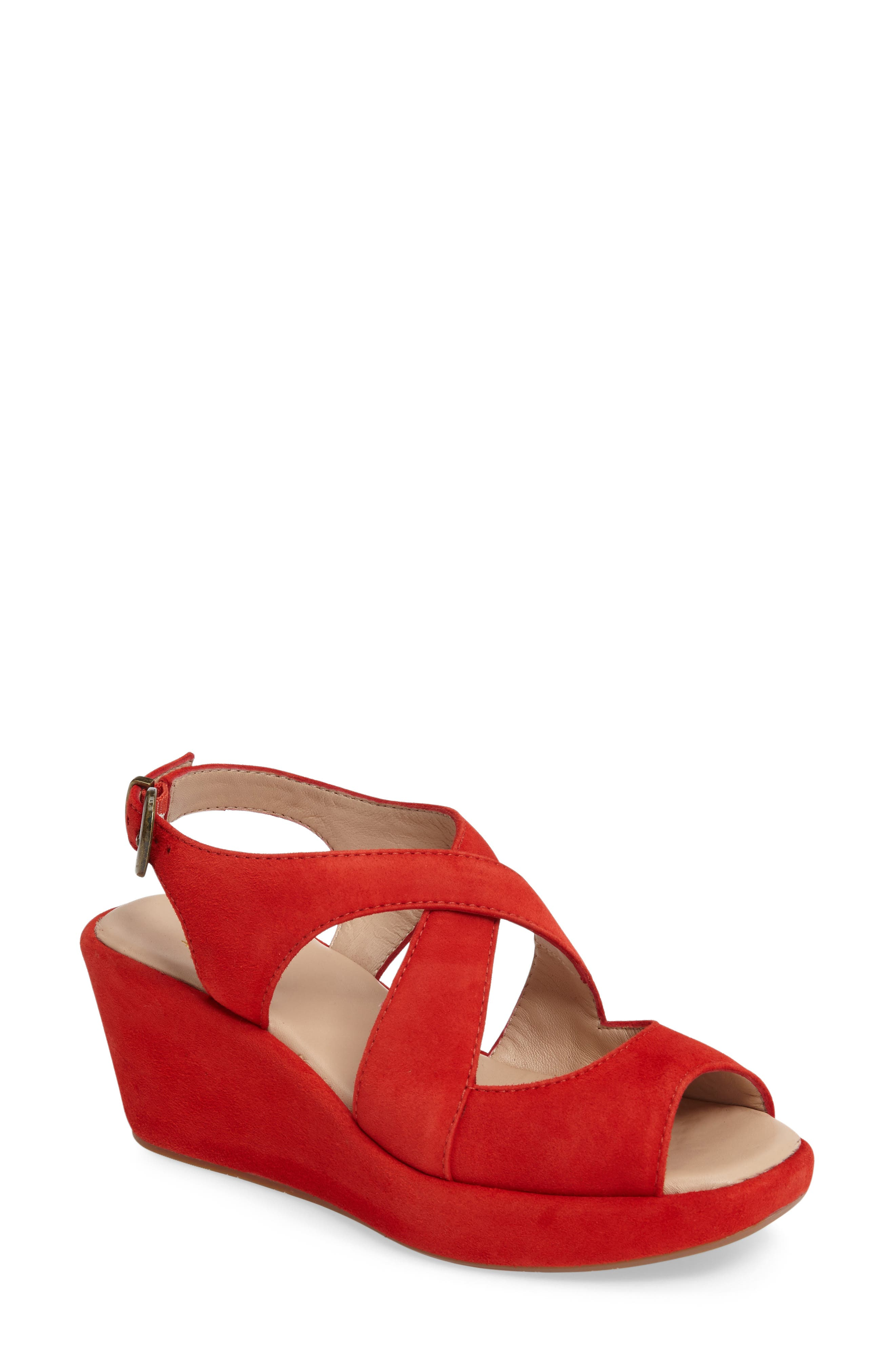 Johnston & Murphy Dana Wedge Sandal (Women)