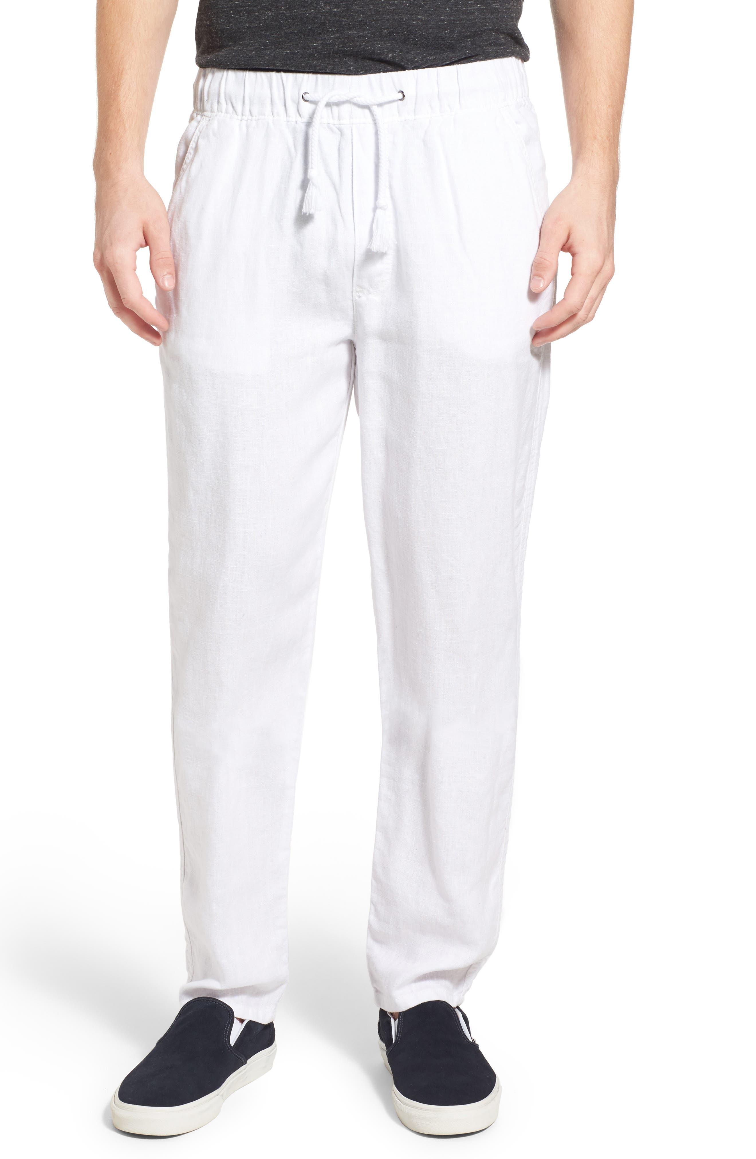 Original Paperbacks 'San Juan' Drawstring Linen Pants