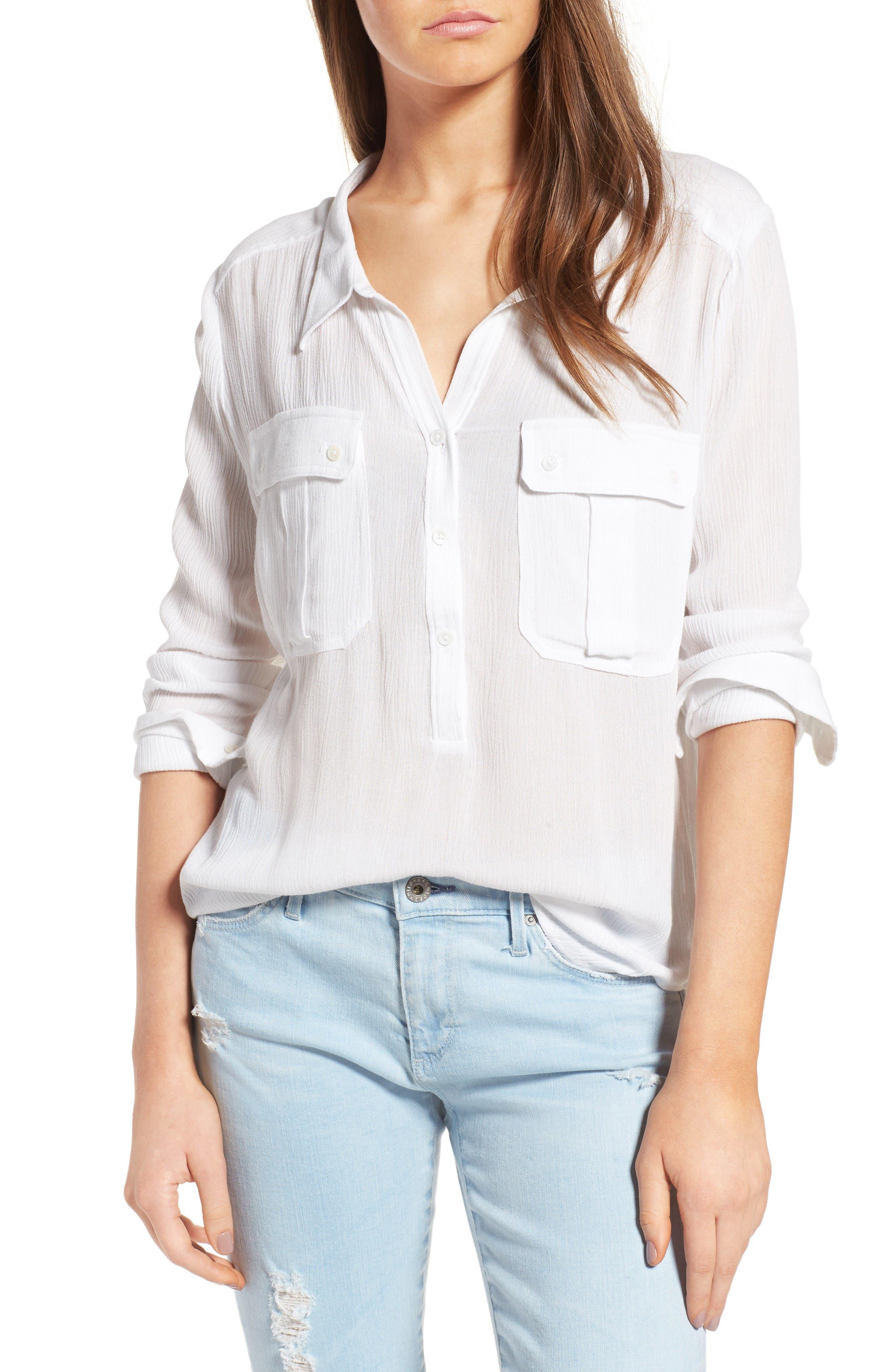 AG Nevada Cotton Henley Shirt