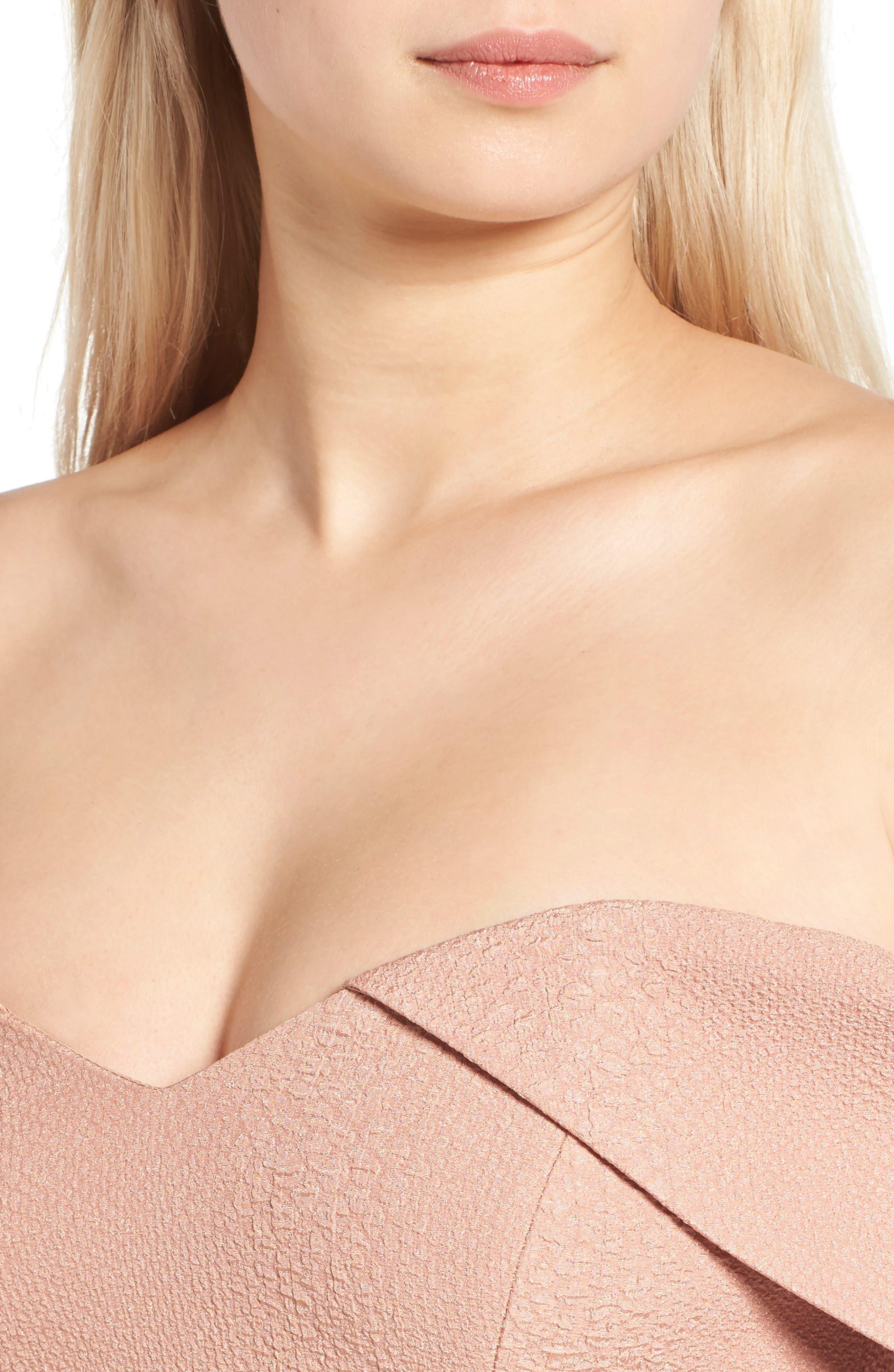 Alternate Image 6  - Bardot Eva Off the Shoulder Body-Con Dress