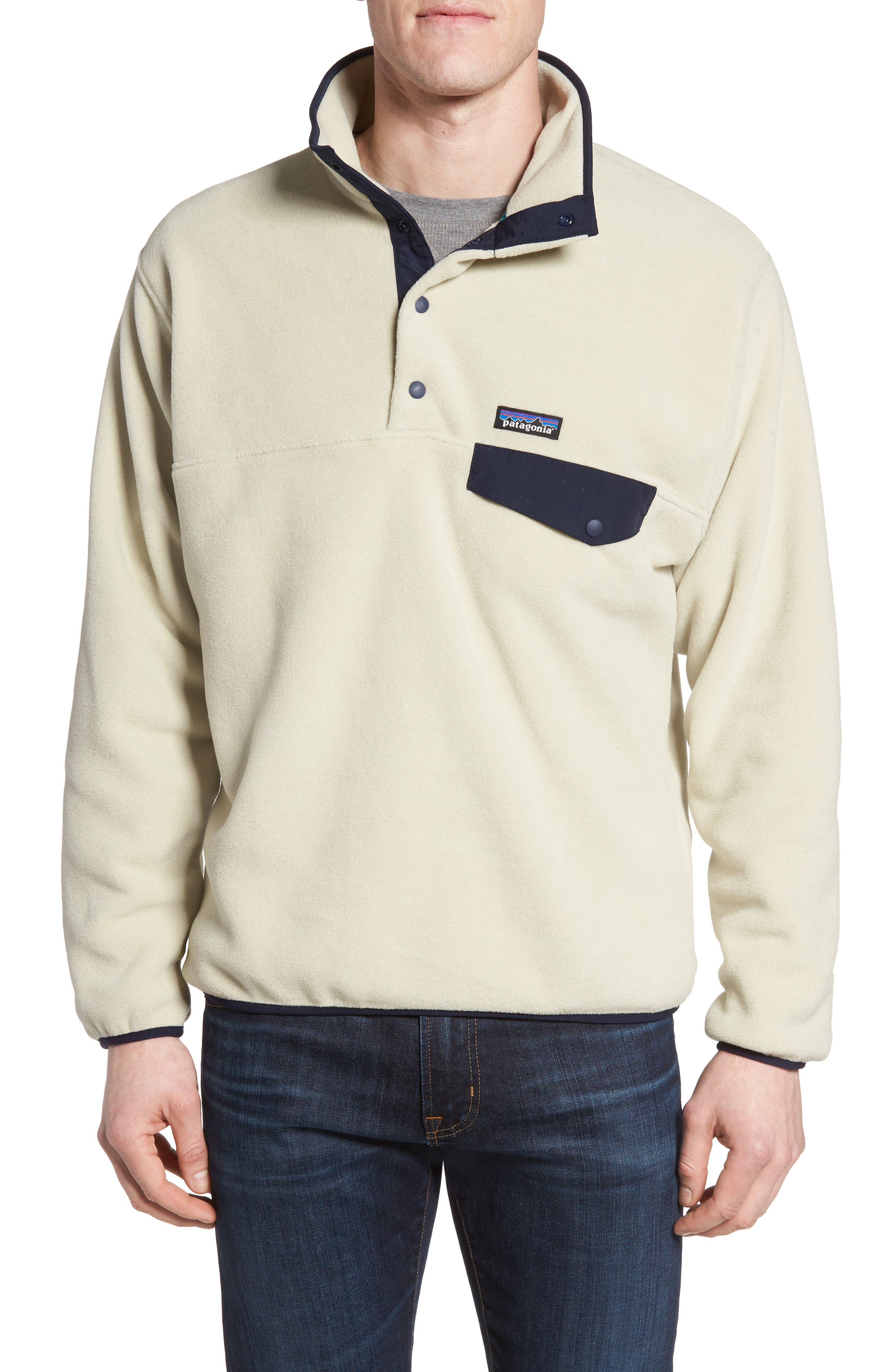 Alternate Image 1 Selected - Patagonia 'Synchilla® Snap-T' Fleece Pullover