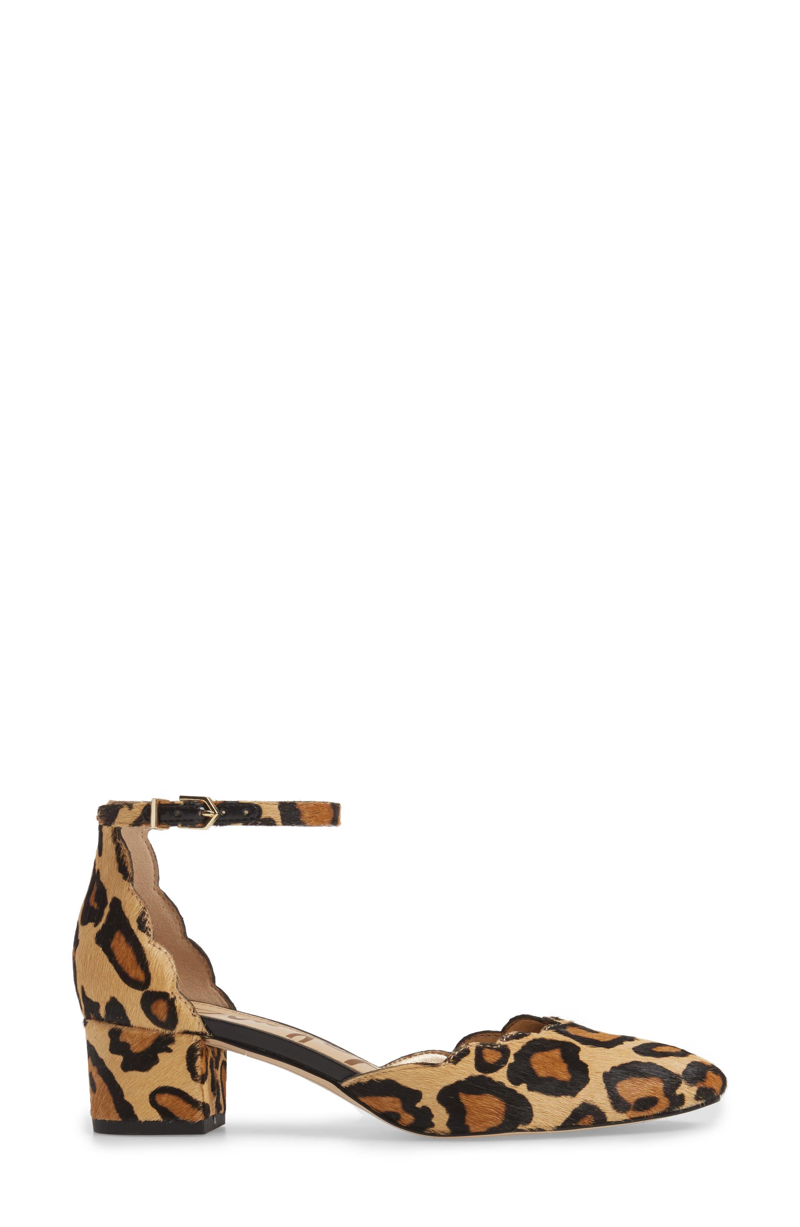 Alternate Image 3  - Sam Edelman Lara Ankle Strap Pump (Women)
