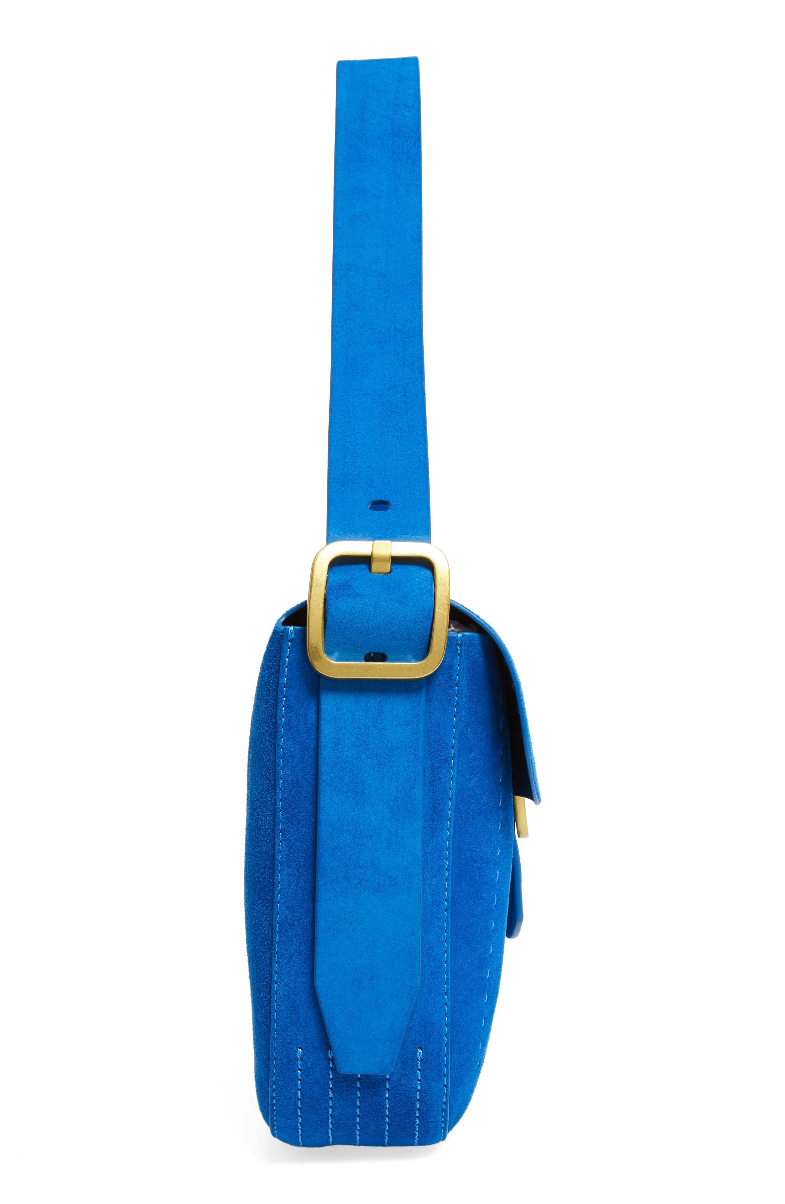 Alternate Image 5  - Tory Burch Sawyer Suede Shoulder Bag