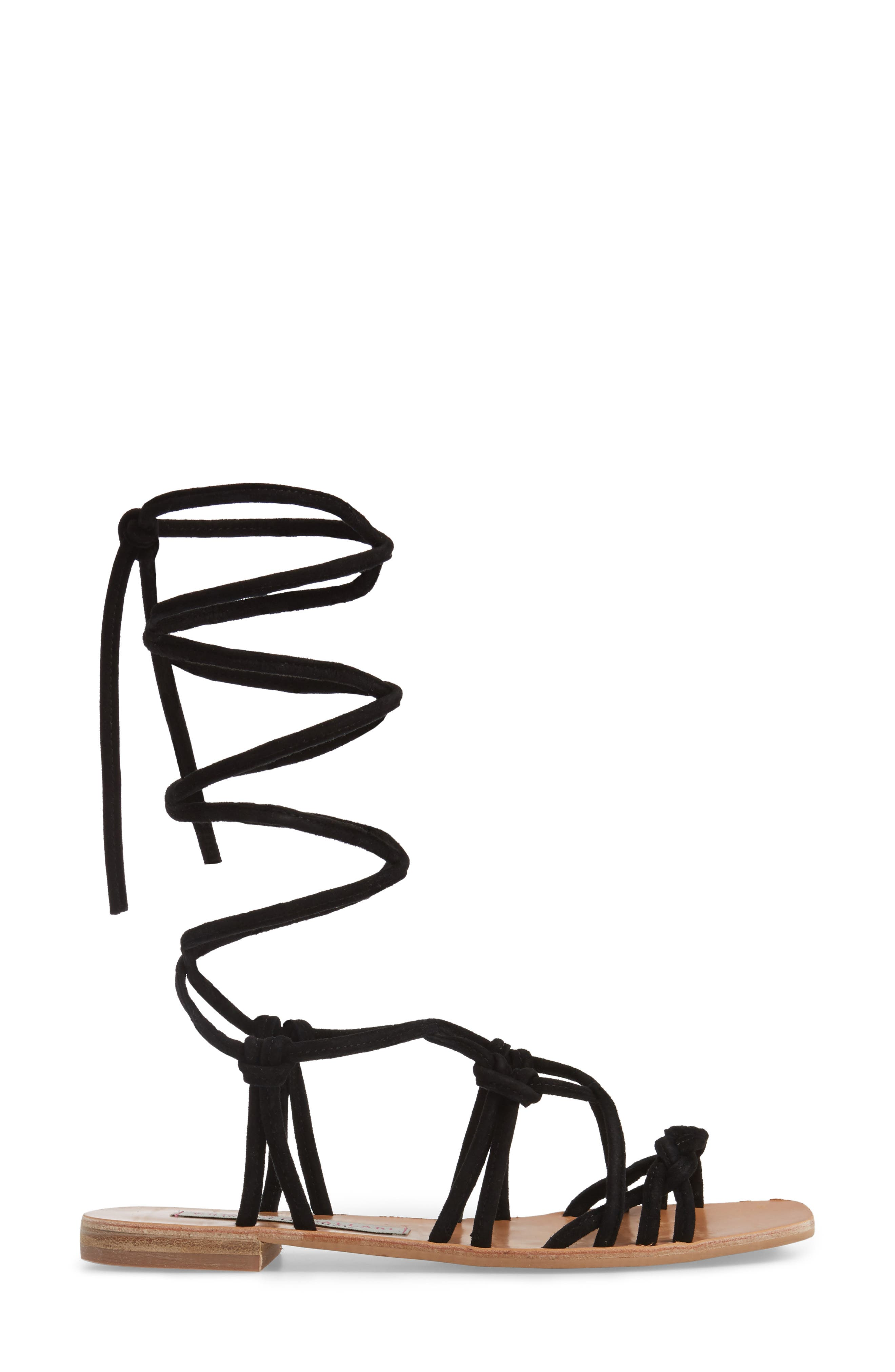 Alternate Image 4  - Kristin Cavallari Tori Knotted Wraparound Sandal (Women)