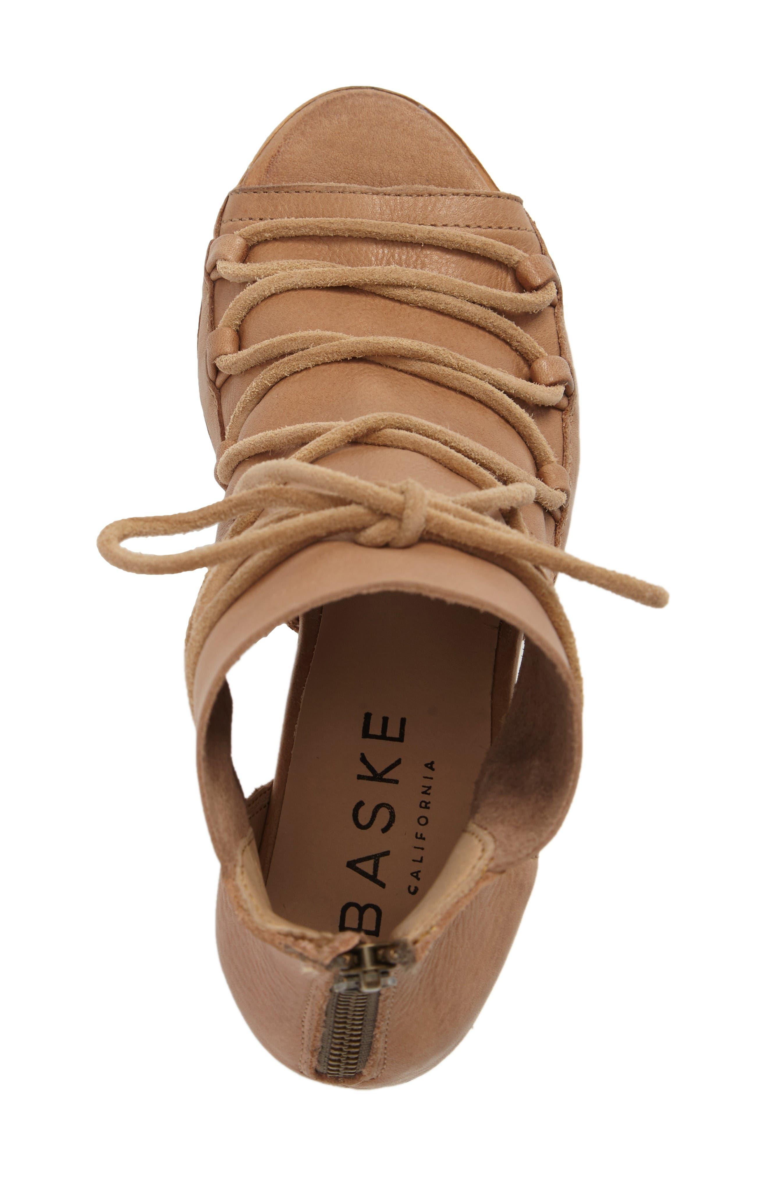 Alternate Image 5  - BASKE california Ariel Peep Toe Bootie (Women)
