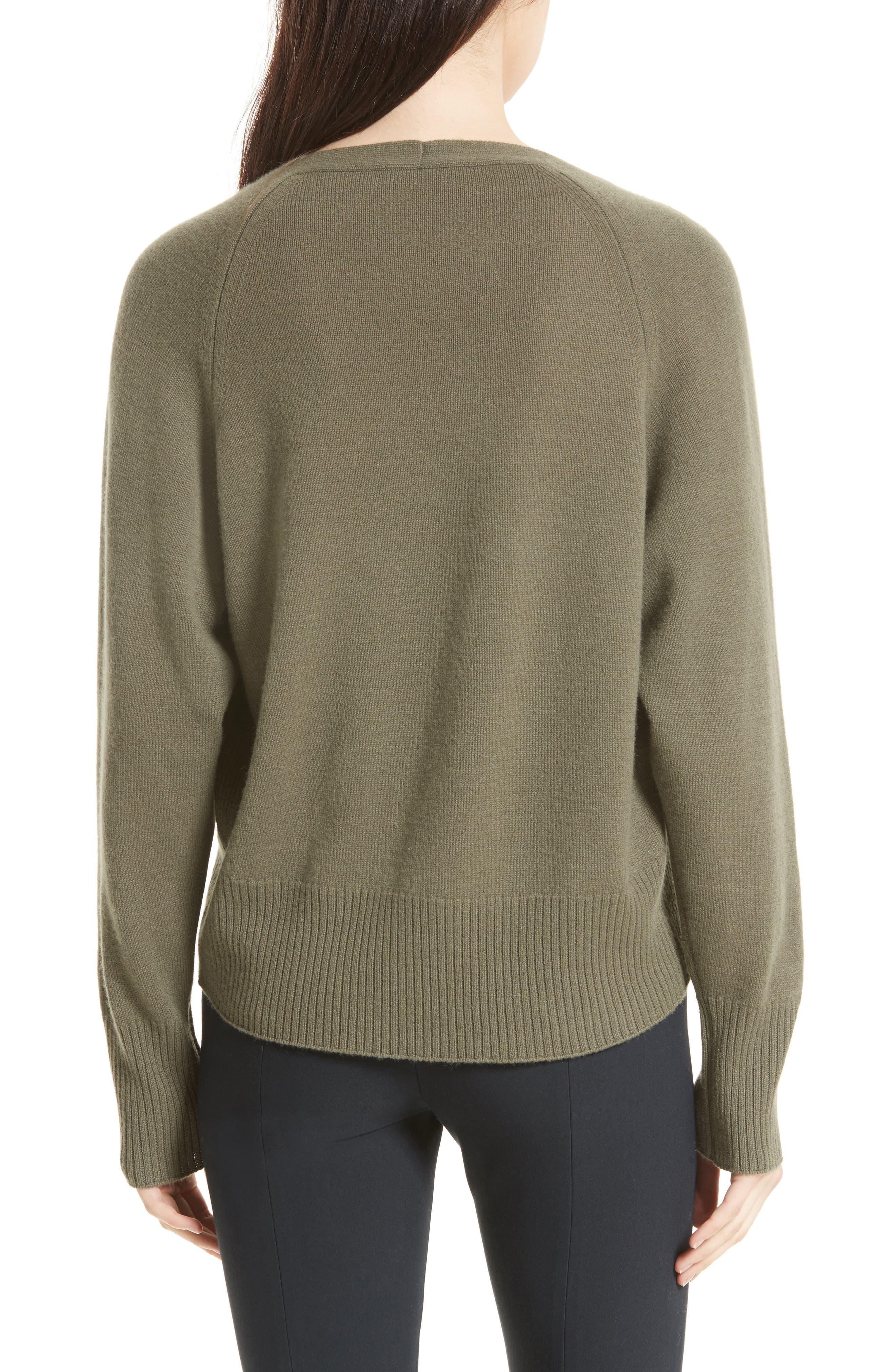 Alternate Image 2  - Vince Boat Neck Cashmere Sweater