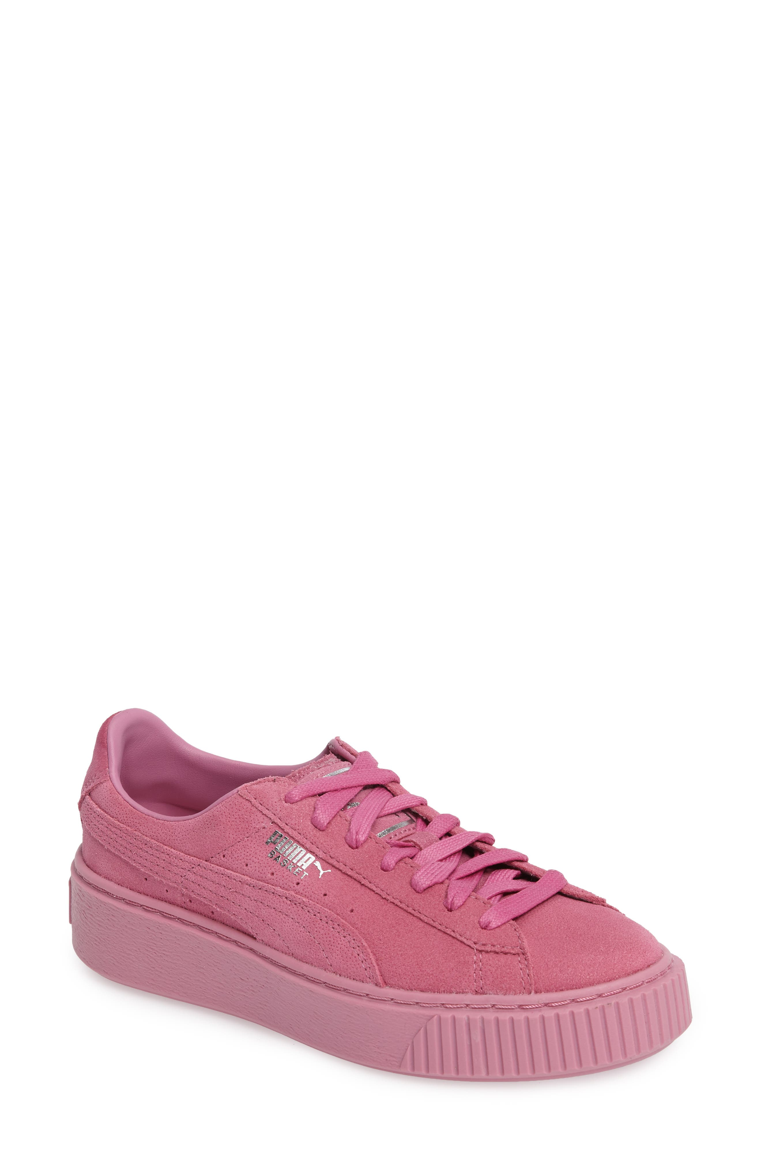 Alternate Image 1 Selected - PUMA Reset Platform Sneaker (Women)