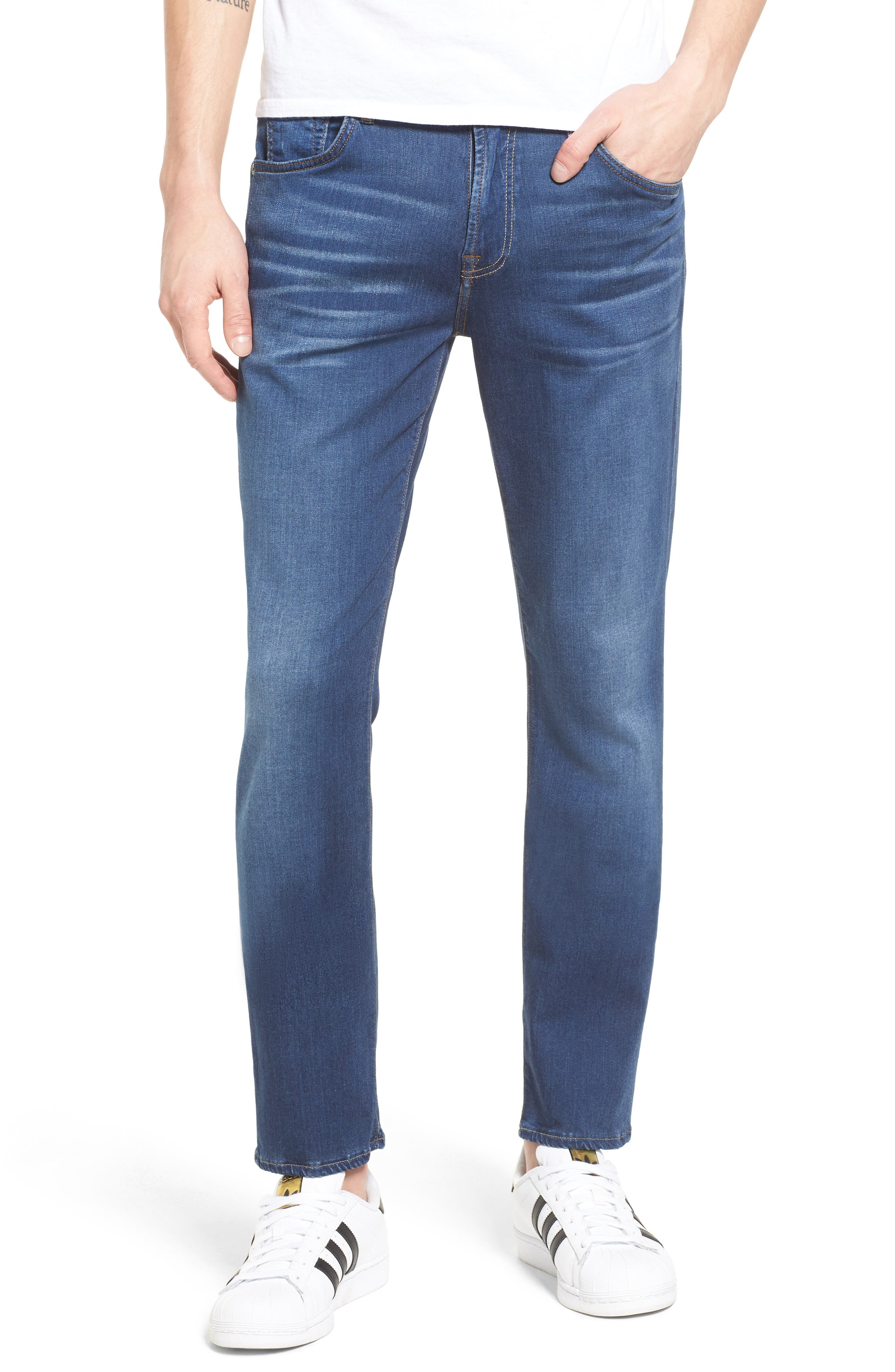 7 For All Mankind® Paxtyn Skinny Fit Jeans (Neptune)