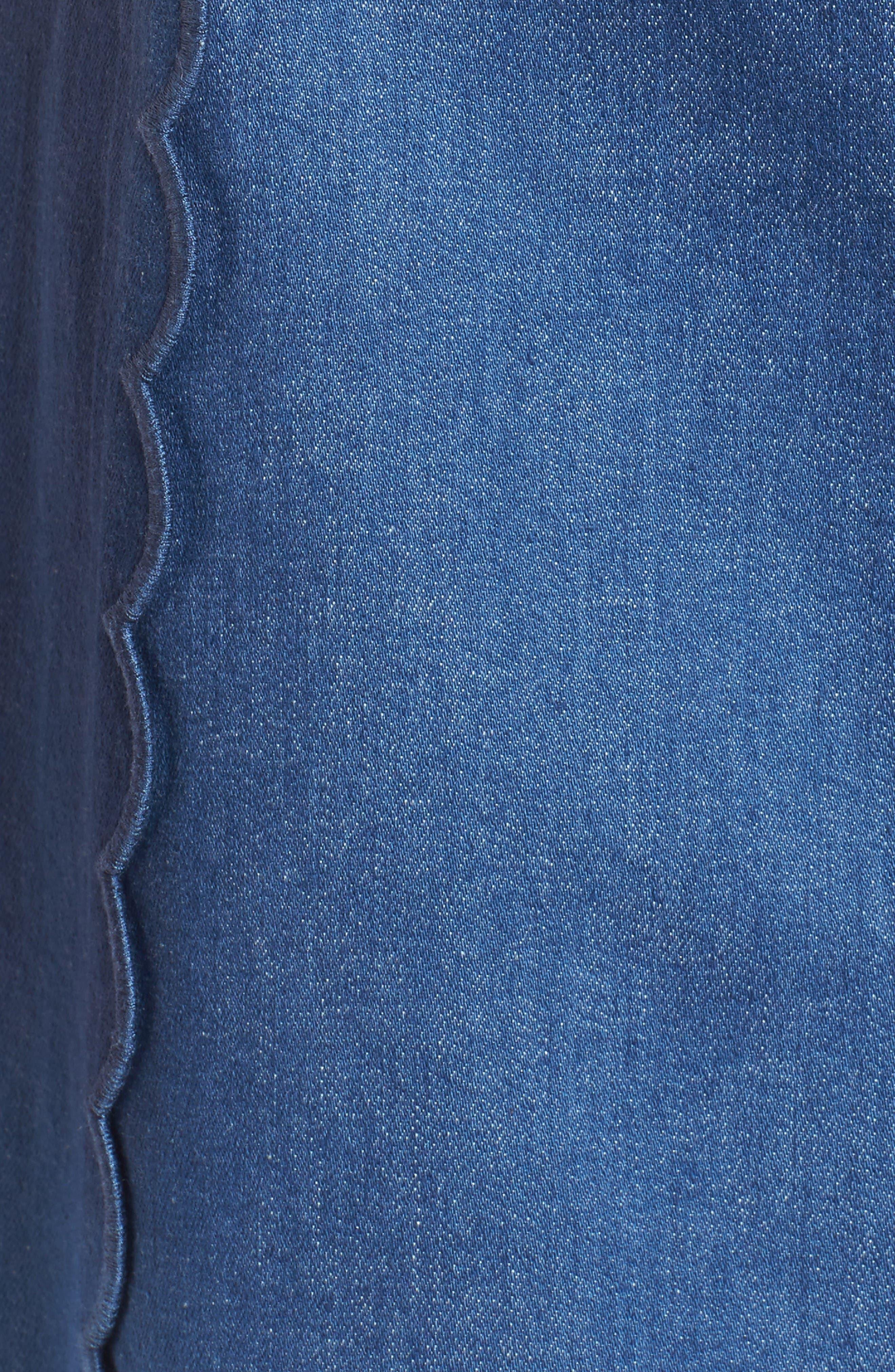 Alternate Image 5  - Draper James Stretch Denim Miniskirt (Nordstrom Exclusive)