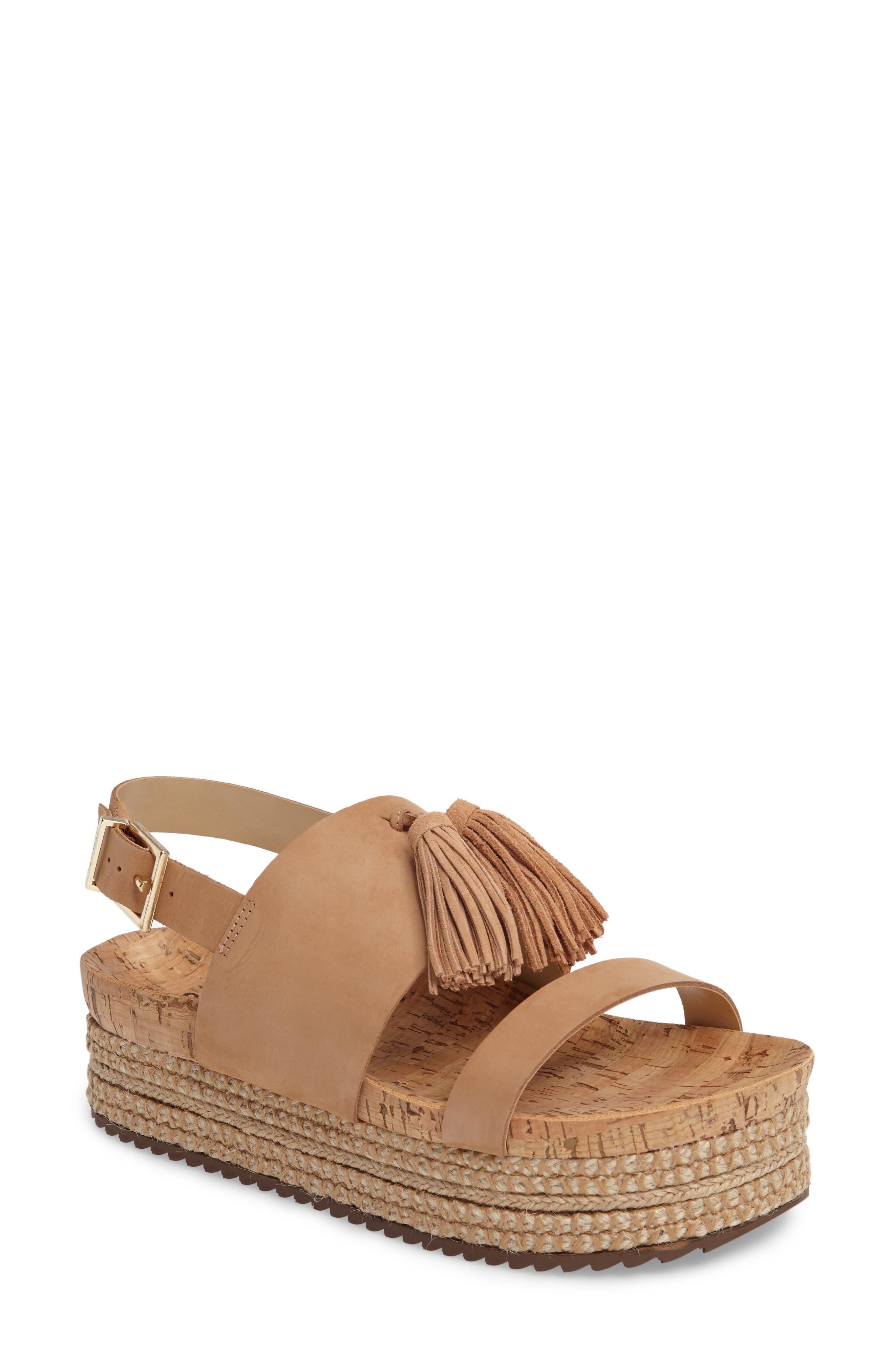 Schutz Monica Platform Espadrille Sandal (Women)