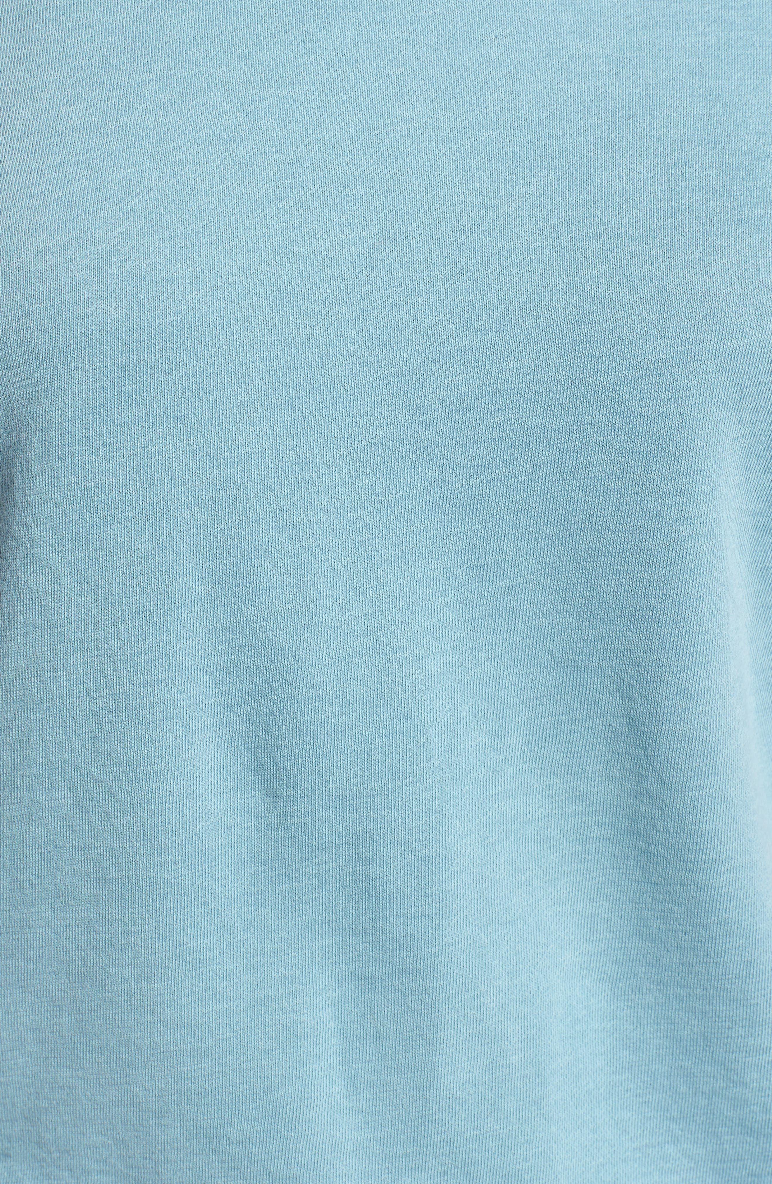 Alternate Image 5  - James Perse Raglan Sleeve Cotton Pullover
